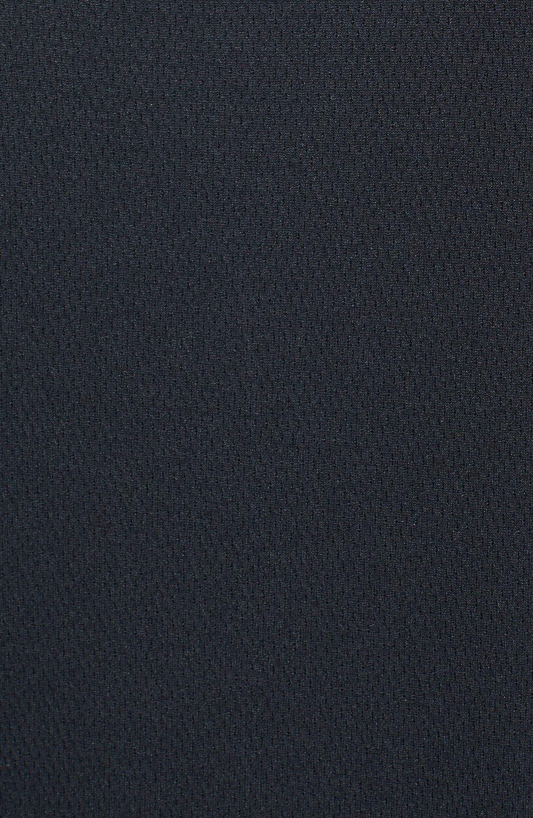 Atlanta Falcons - Edge DryTec Moisture Wicking Half Zip Pullover,                             Alternate thumbnail 3, color,                             Black