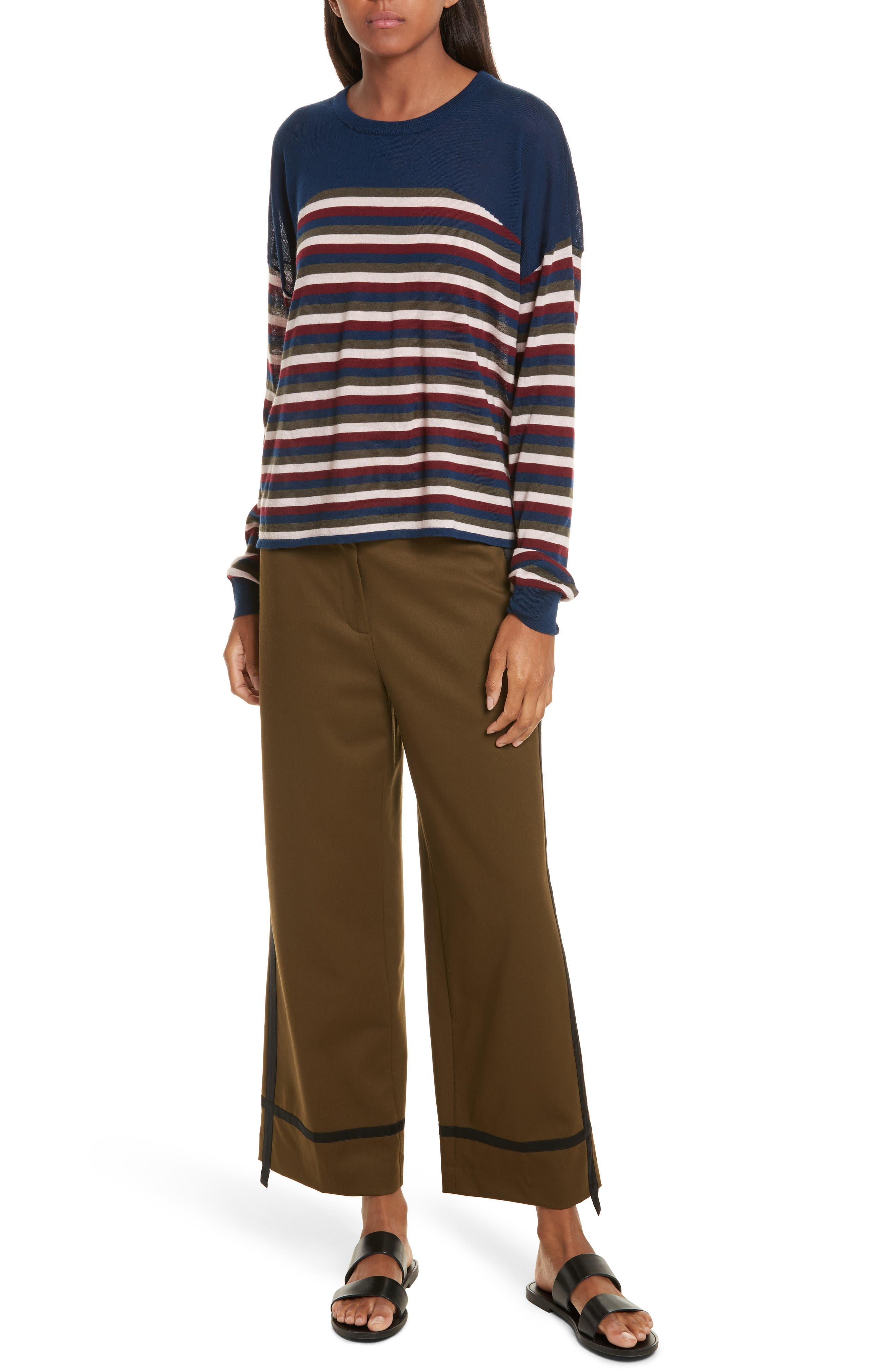 Alternate Image 2  - GREY Jason Wu Stripe Knit Pullover