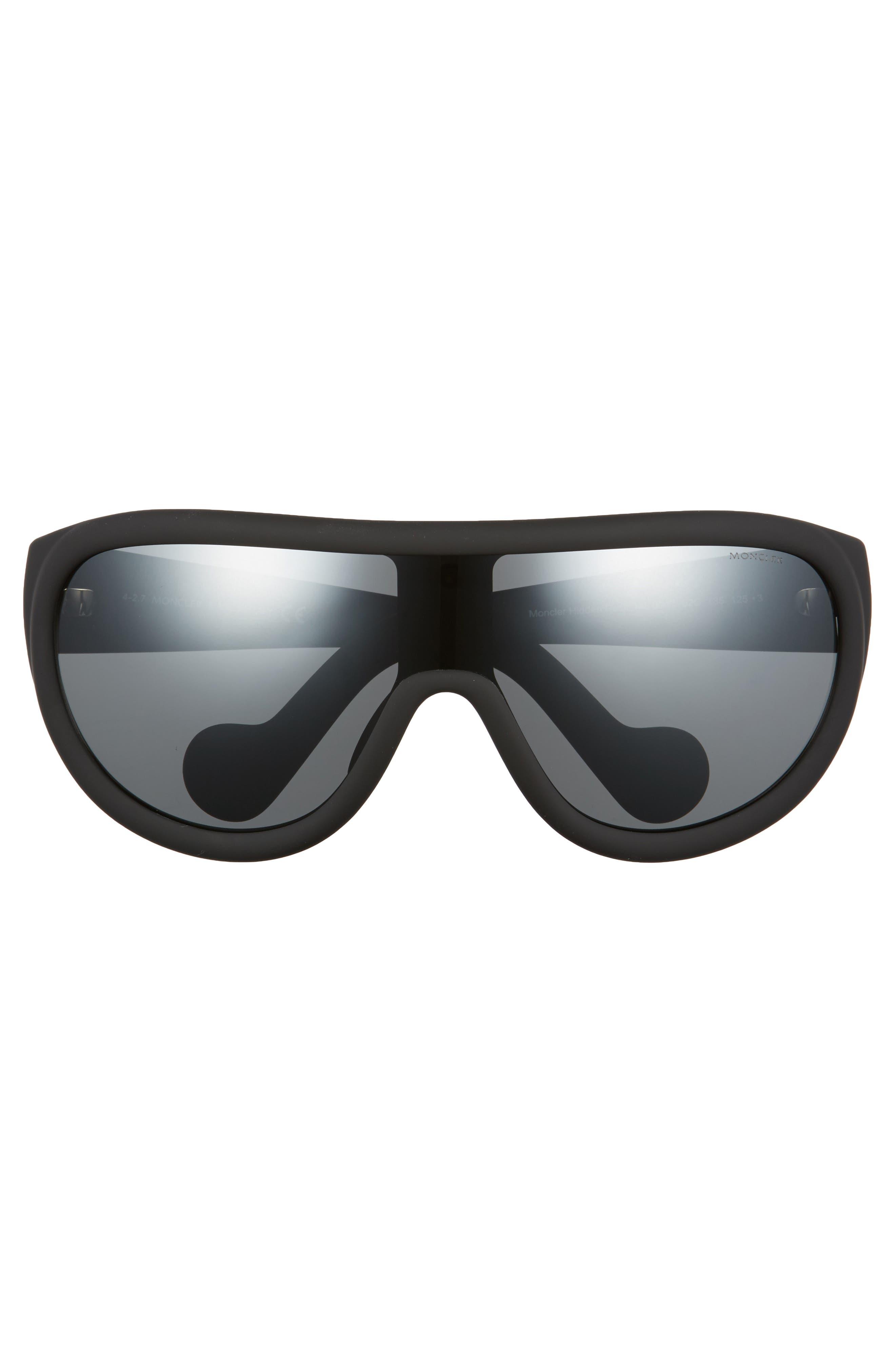 Alternate Image 2  - Moncler Sport 60mm Aviator Sunglasses