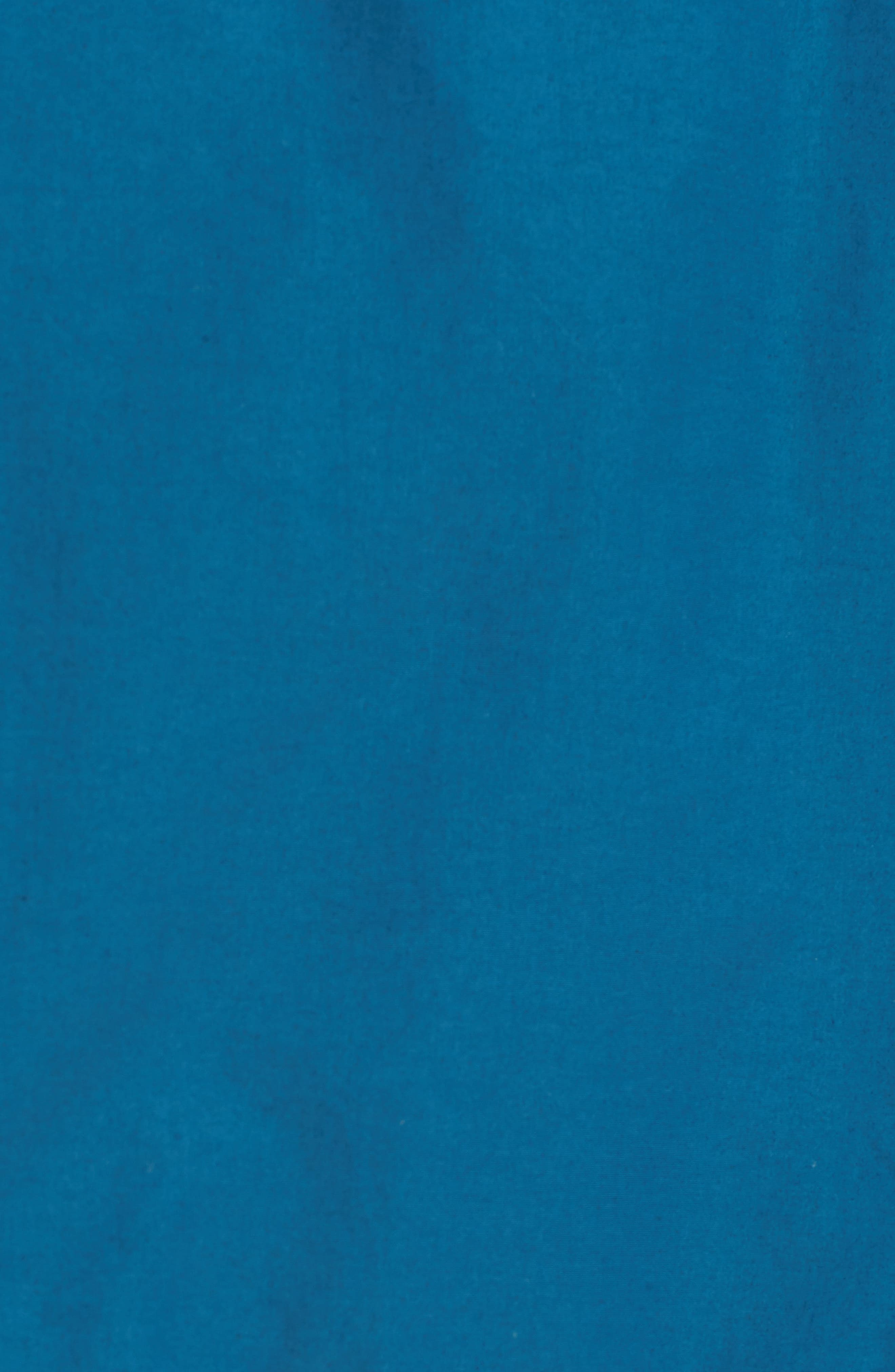 Hooded Utility Jacket,                             Alternate thumbnail 5, color,                             Blue Spruce