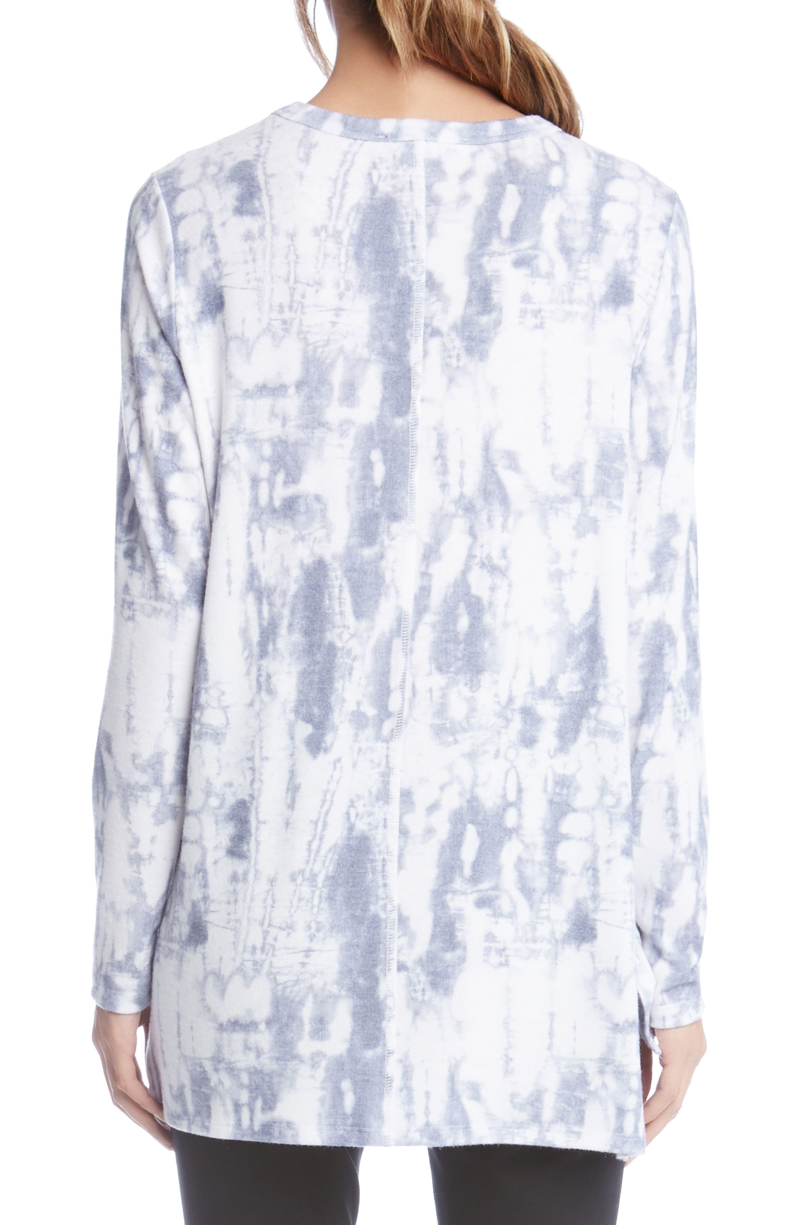 Alternate Image 2  - Karen Kane Tie Dye Top