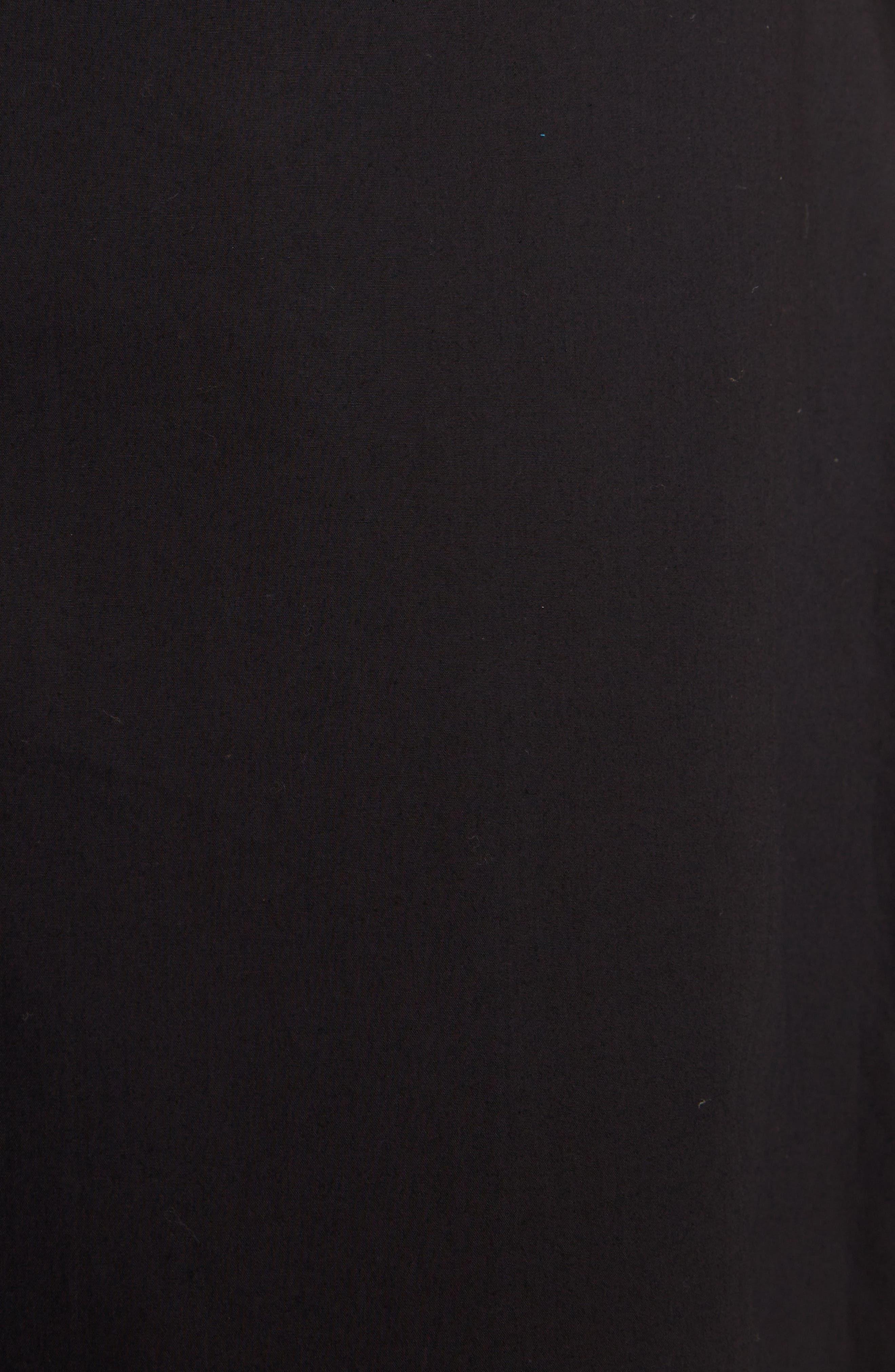 Hamina Ruffle Skirt,                             Alternate thumbnail 5, color,                             Black