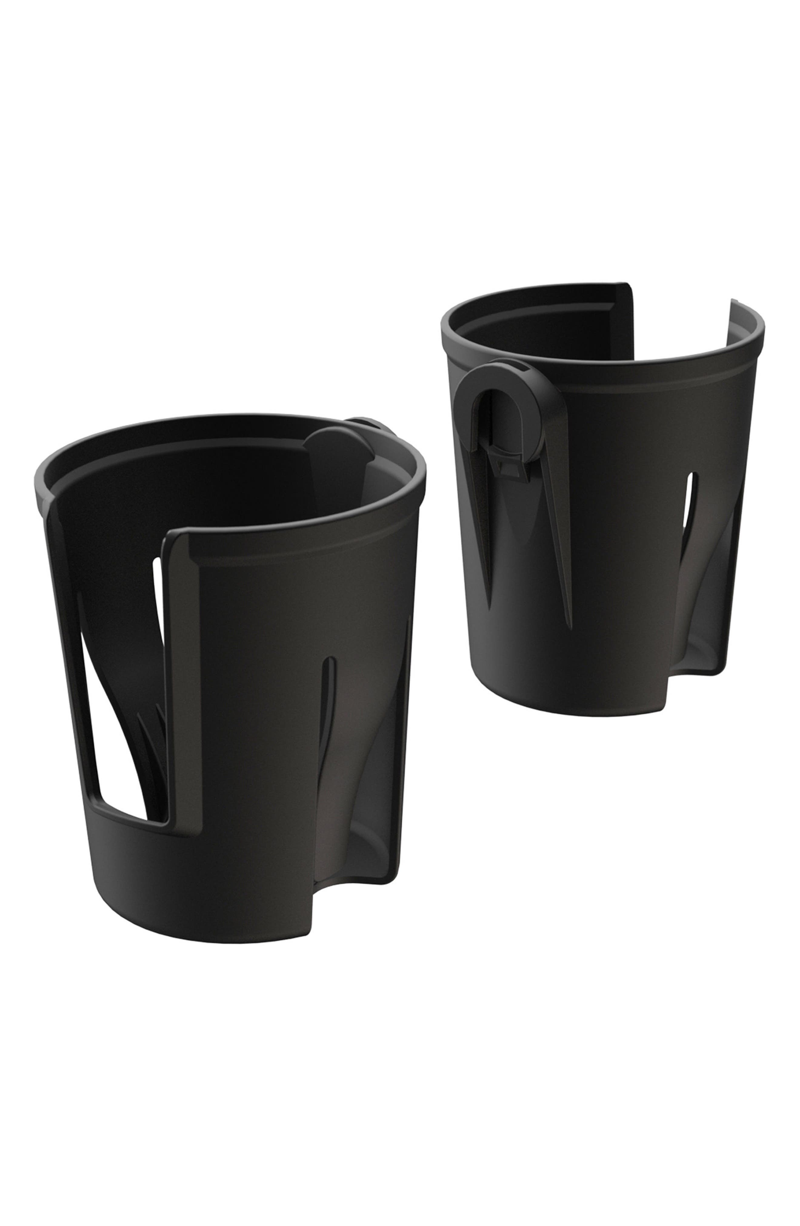 Set of 2 Cupholders,                             Main thumbnail 1, color,                             Black