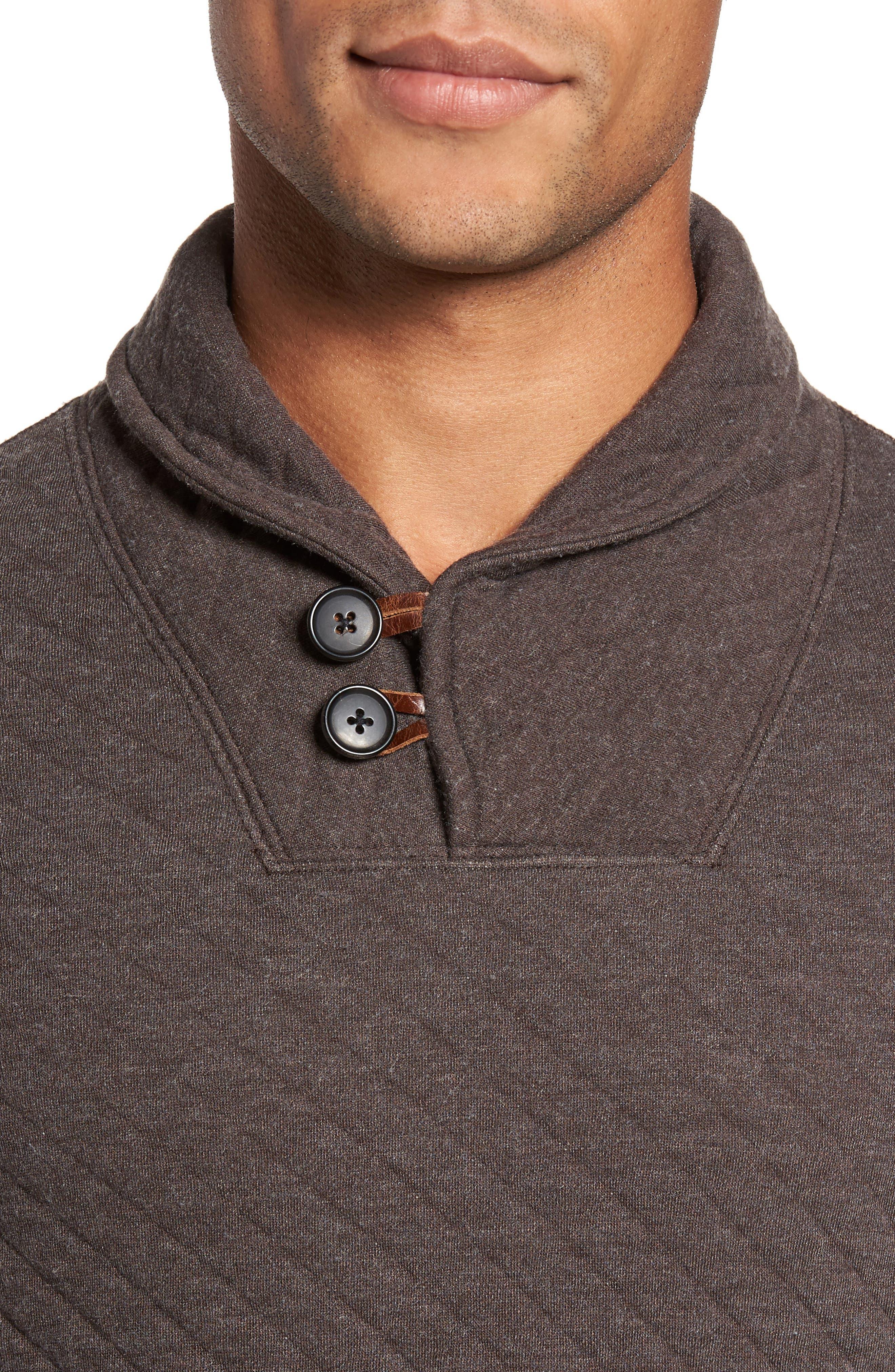 Alternate Image 4  - Billy Reid Shawl Collar Pullover
