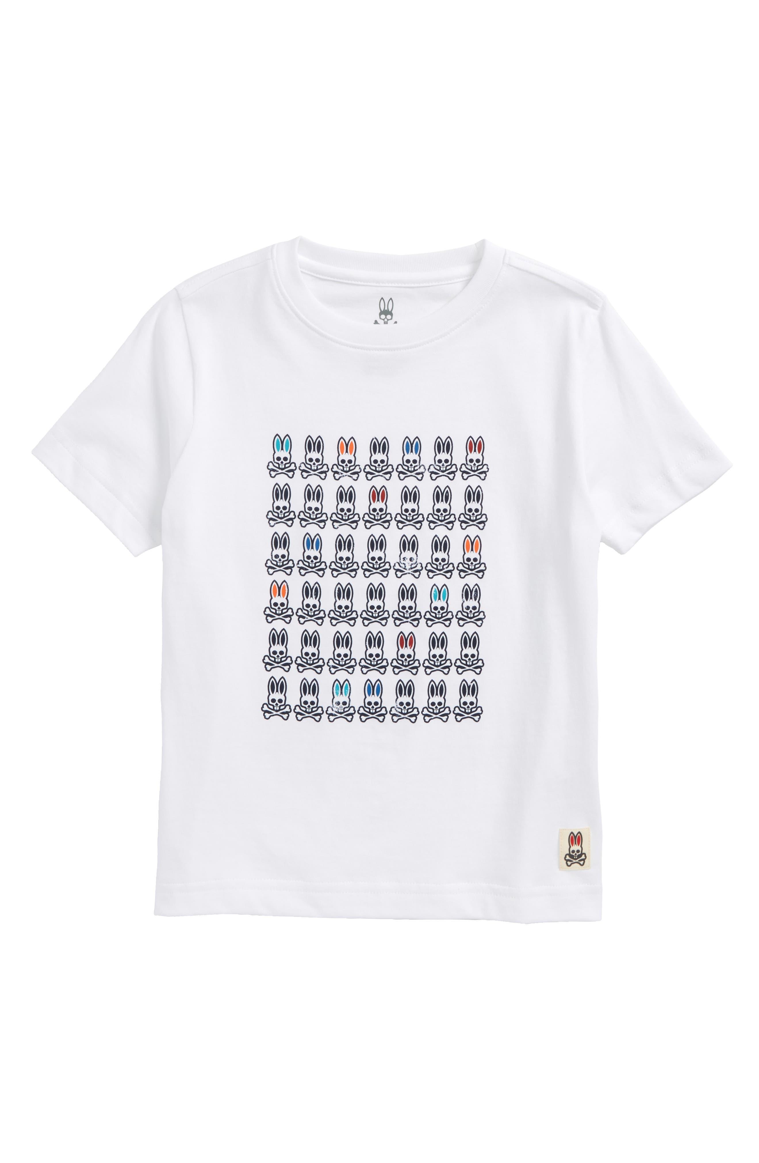 Alternate Image 1 Selected - Psycho Bunny Logo Graphic T-Shirt (Little Boys & Big Boys)