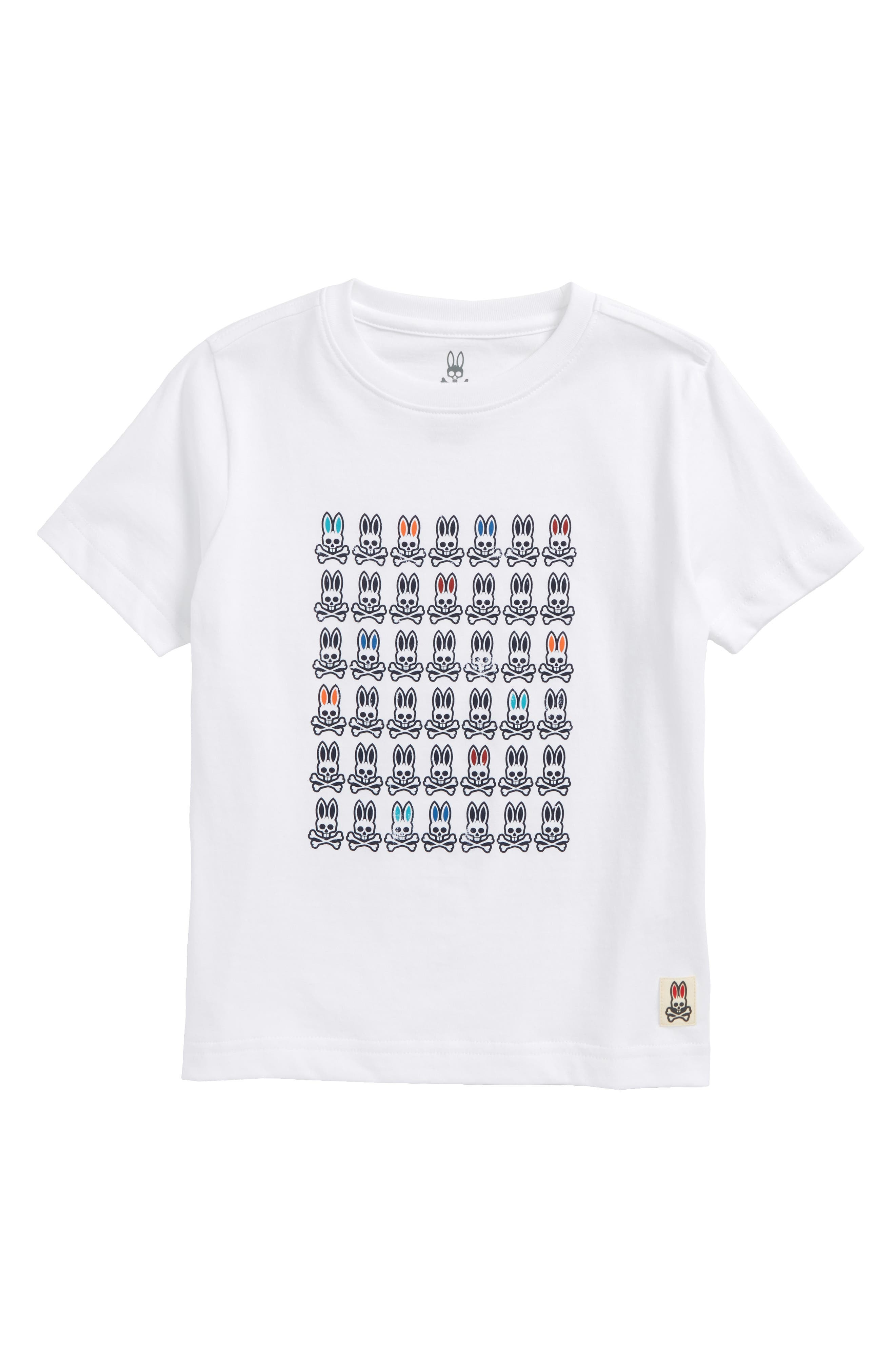 Main Image - Psycho Bunny Logo Graphic T-Shirt (Little Boys & Big Boys)