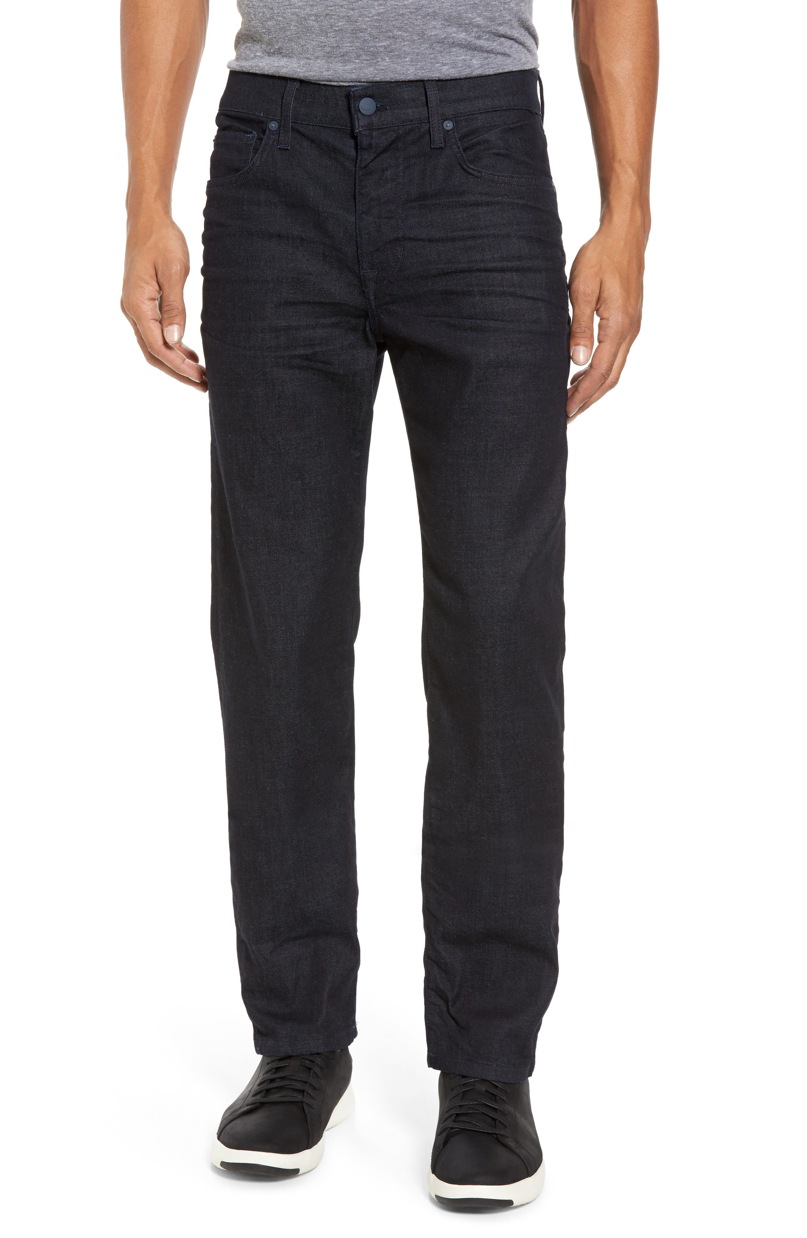 Brixton Slim Straight Fit Jeans,                             Main thumbnail 1, color,                             Foster