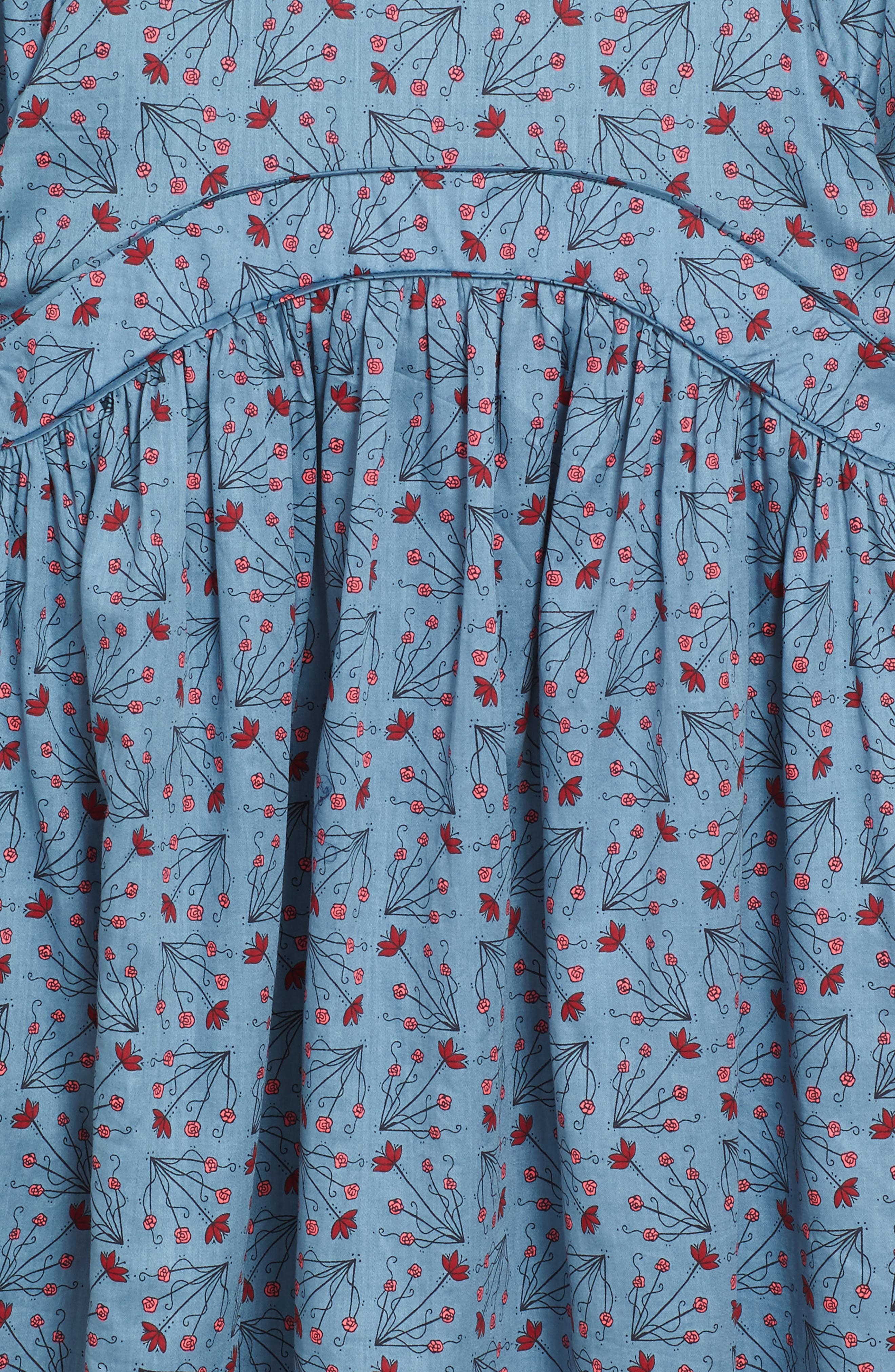 Alternate Image 3  - Tea Collection Aviemore Empire Dress (Toddler Girls, Little Girls & Big Girls)