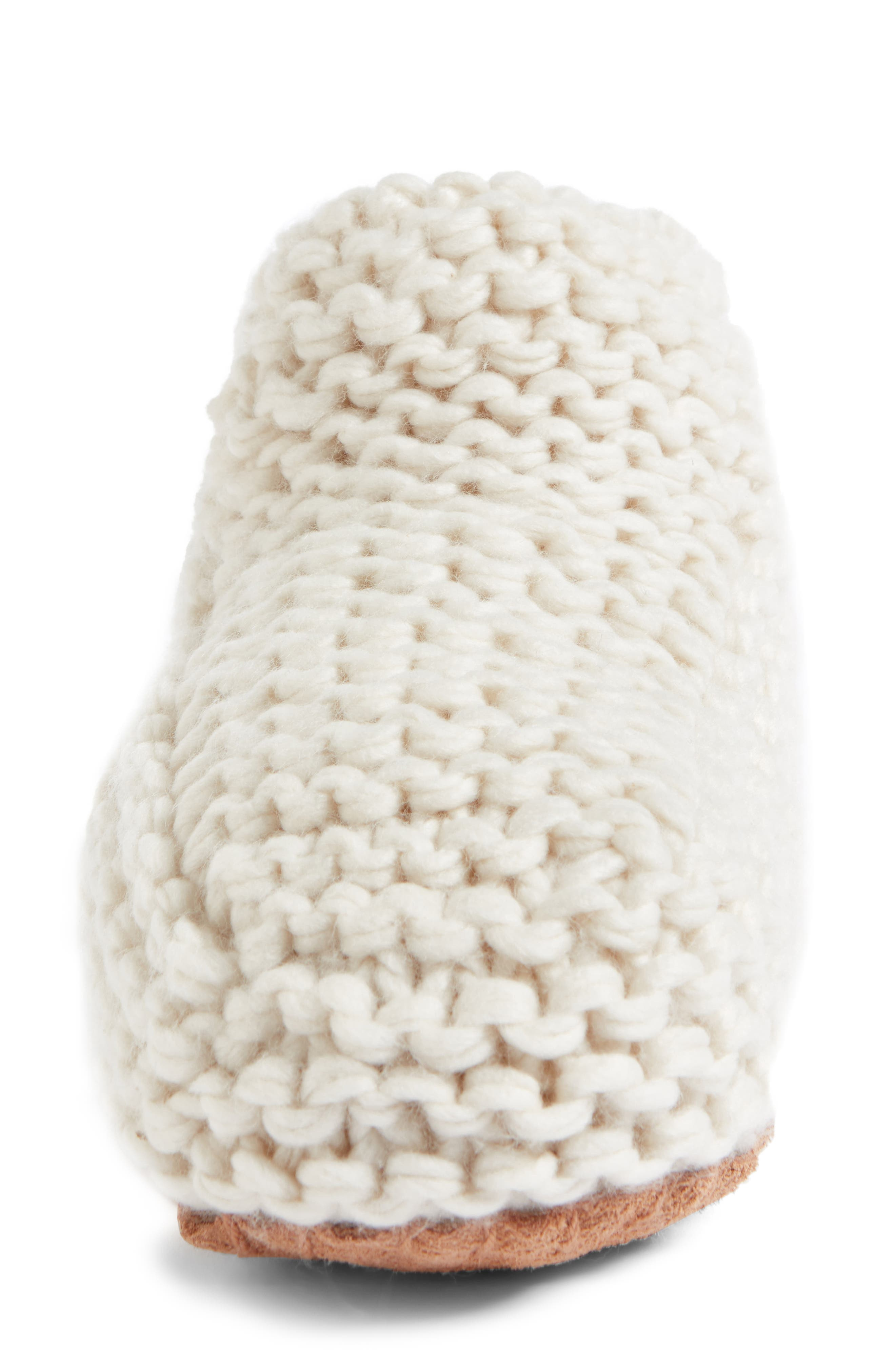 Alternate Image 4  - Lemon Knit Slipper Bootie