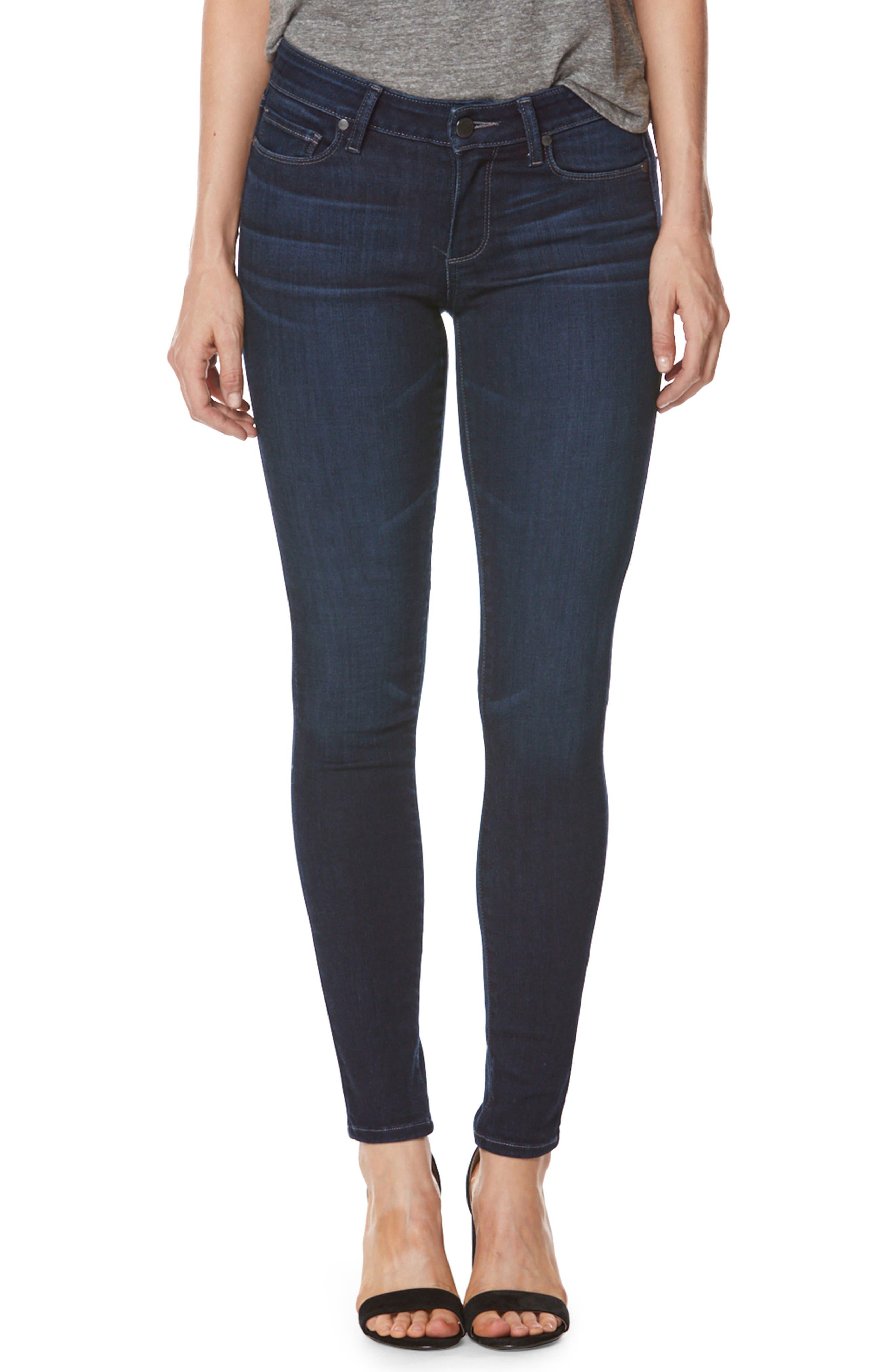 PAIGE Transcend Vintage - Verdugo High Waist Ankle Skinny Jeans