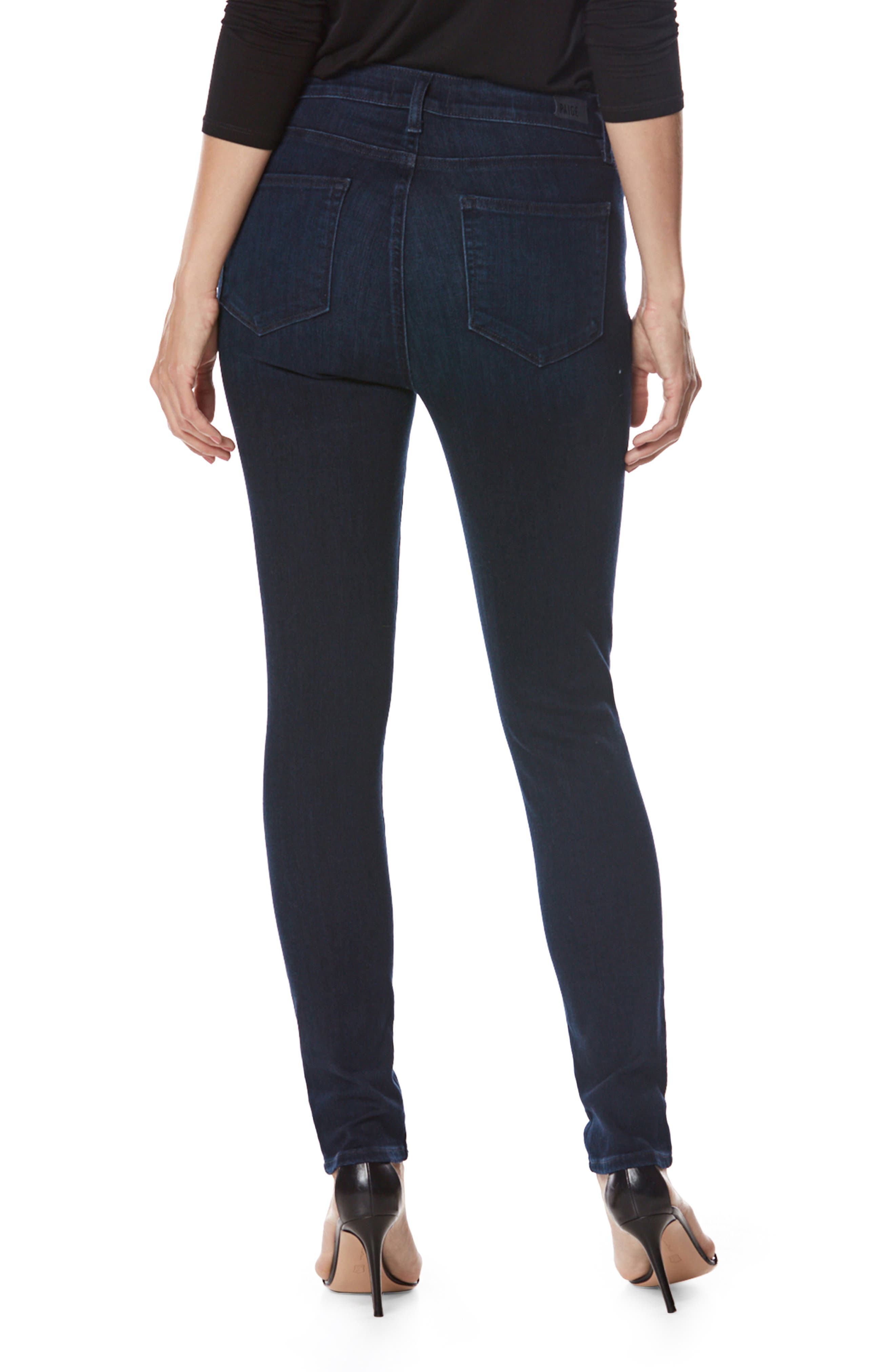 Alternate Image 3  - PAIGE Transcend - Hoxton High Waist Ultra Skinny Jeans (Surge)