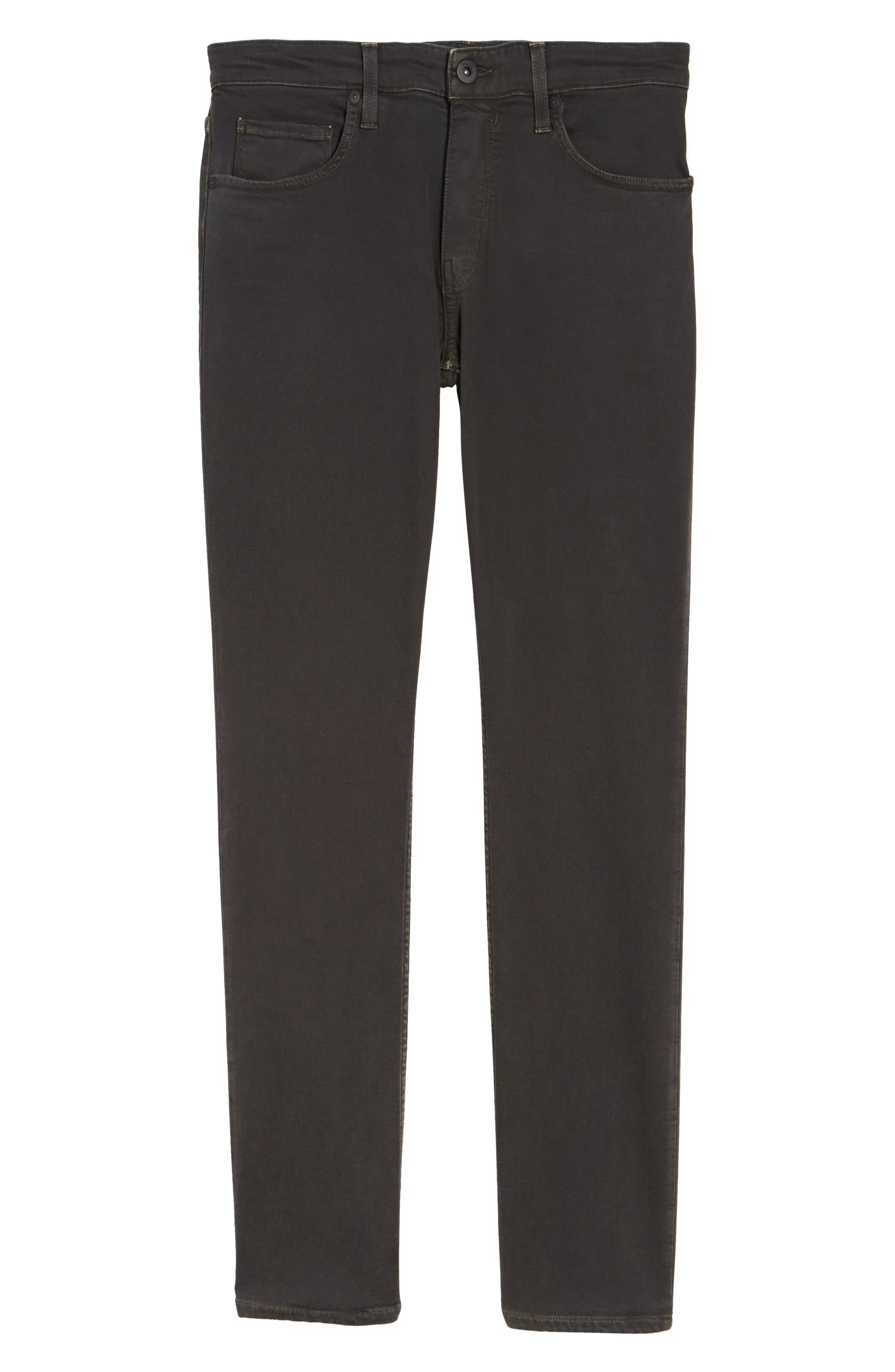 Alternate Image 6  - PAIGE Transcend - Federal Slim Straight Leg Jeans (Vintage Black Fade)