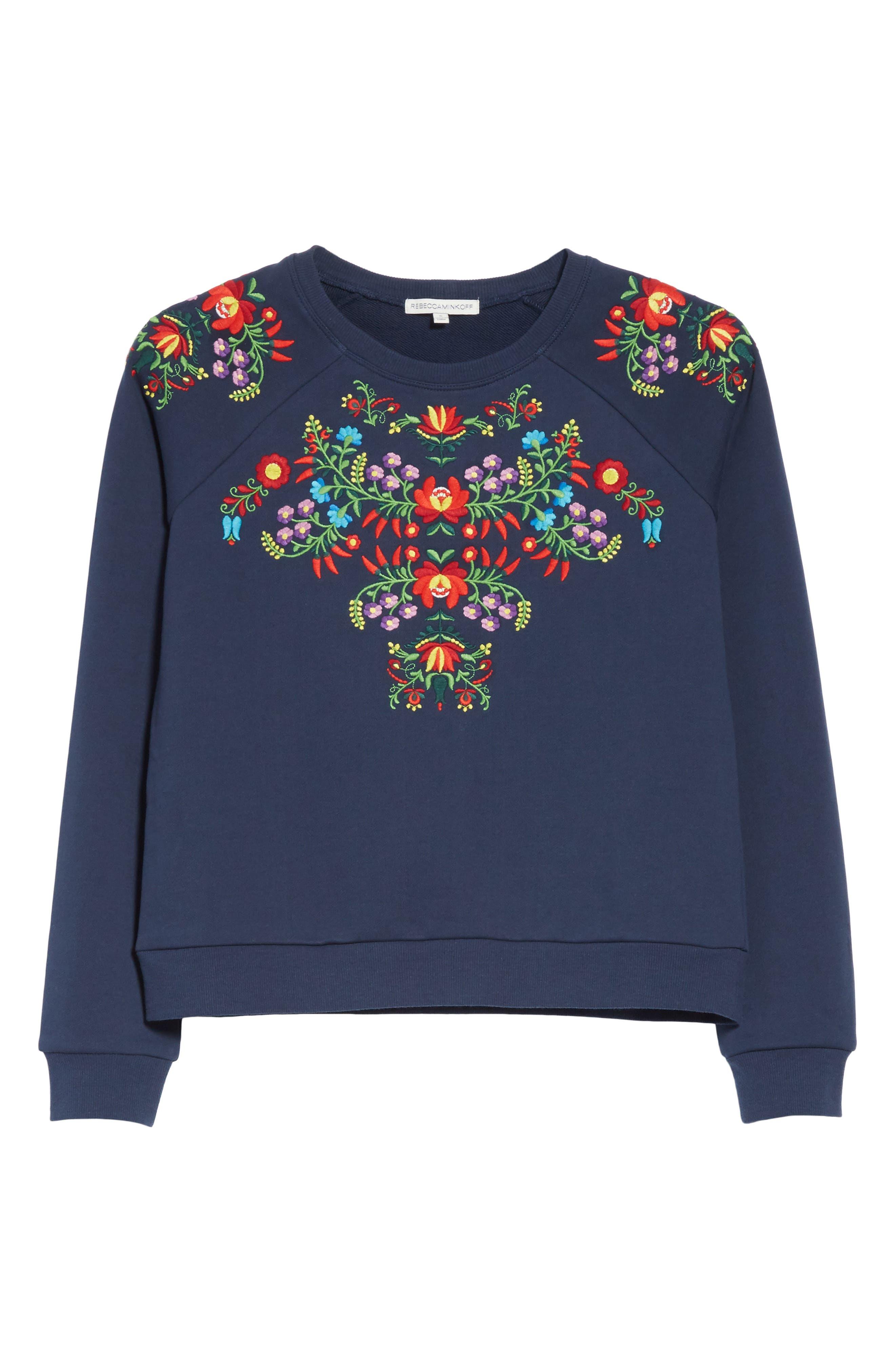 Alternate Image 6  - Rebecca Minkoff Jennings Sweatshirt