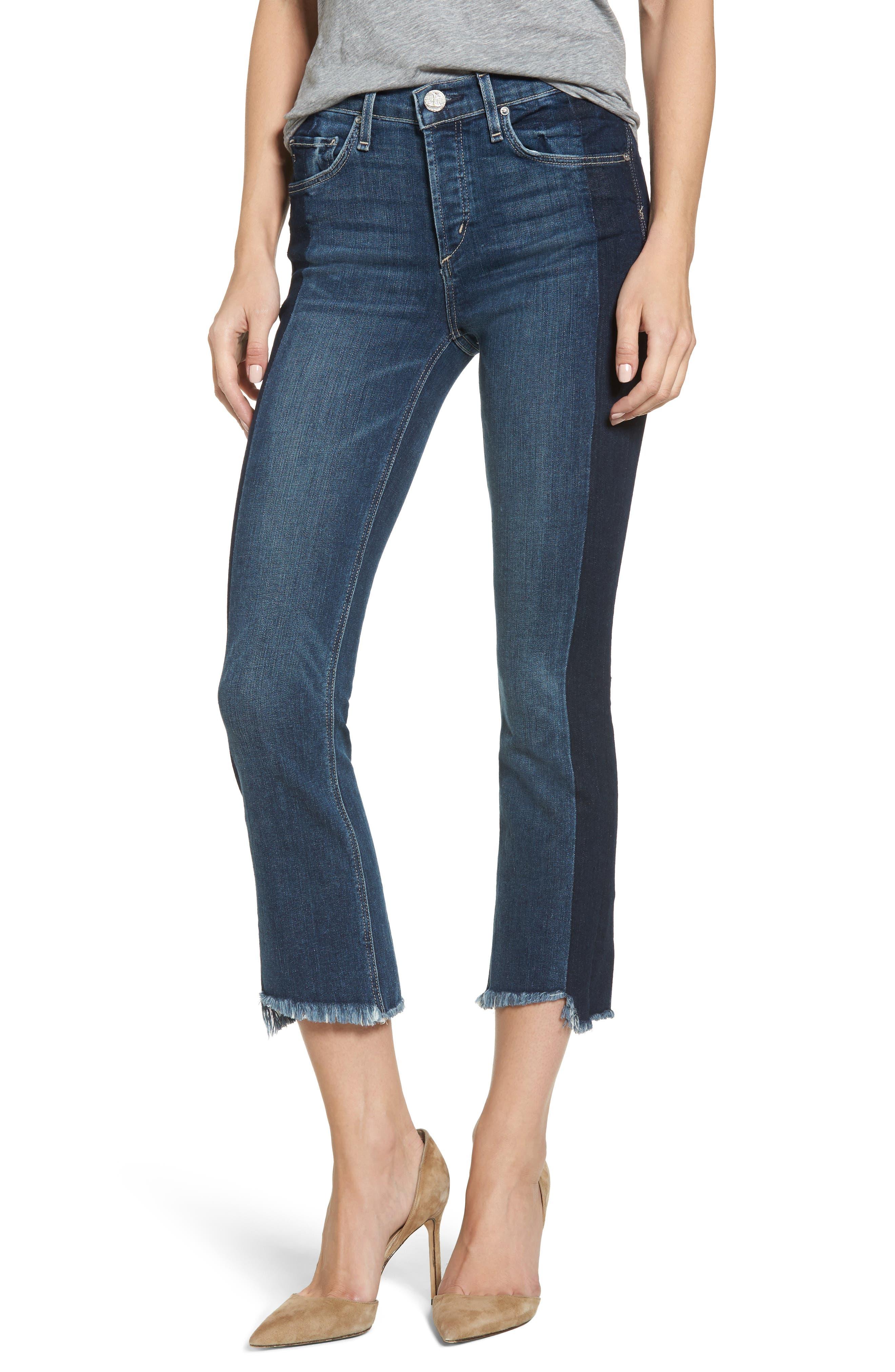 McGuire Vintage Slim Crop Jeans (Rebelle)