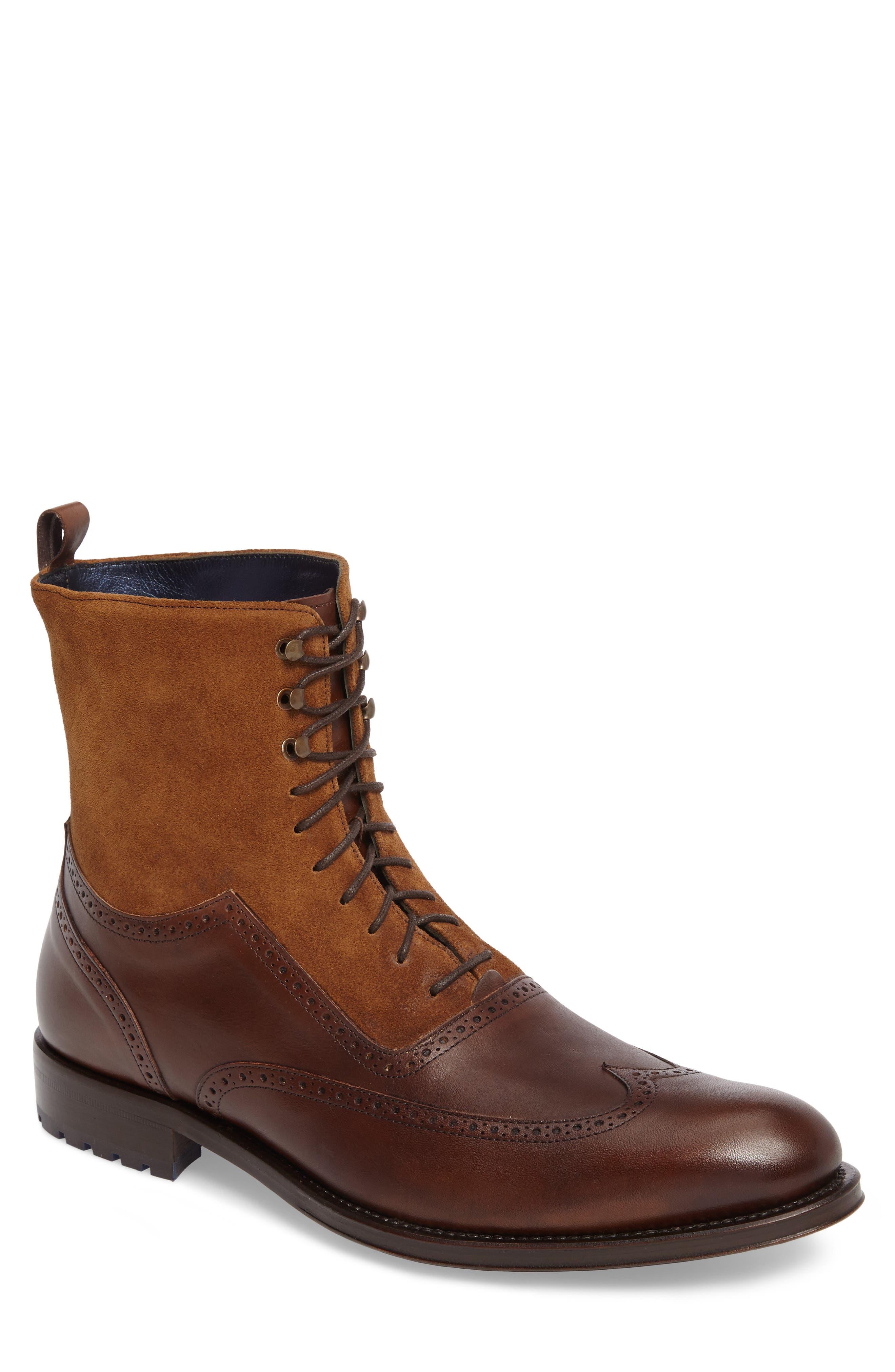 Alternate Image 1 Selected - Mezlan Benalva Wingtip Boot (Men)