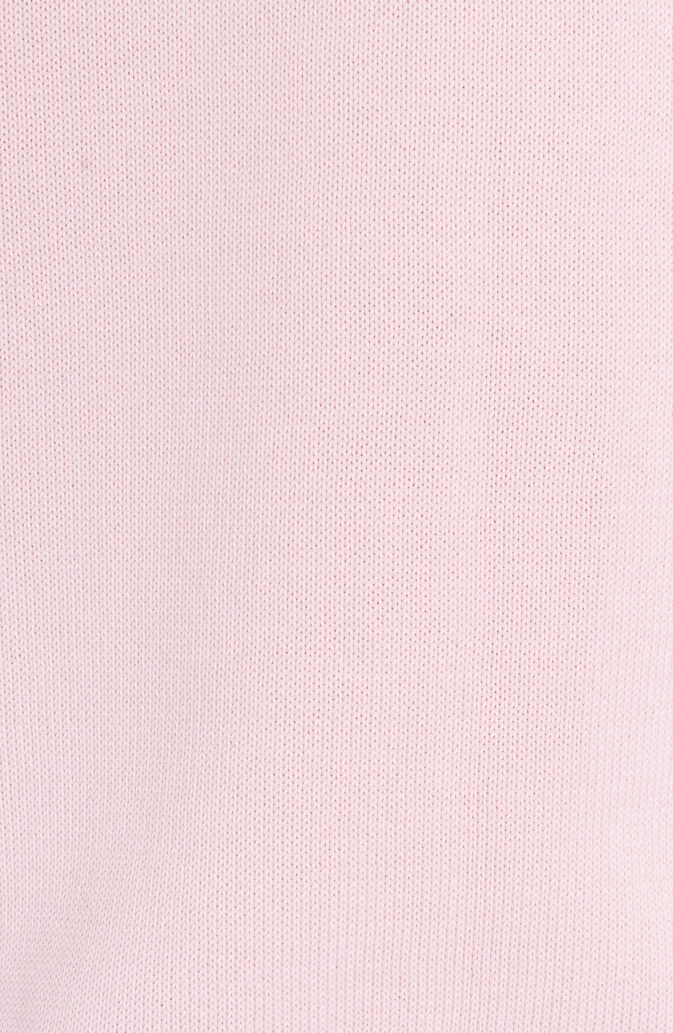 Paris Logo Sweatshirt,                             Alternate thumbnail 8, color,                             Flamingo Pink
