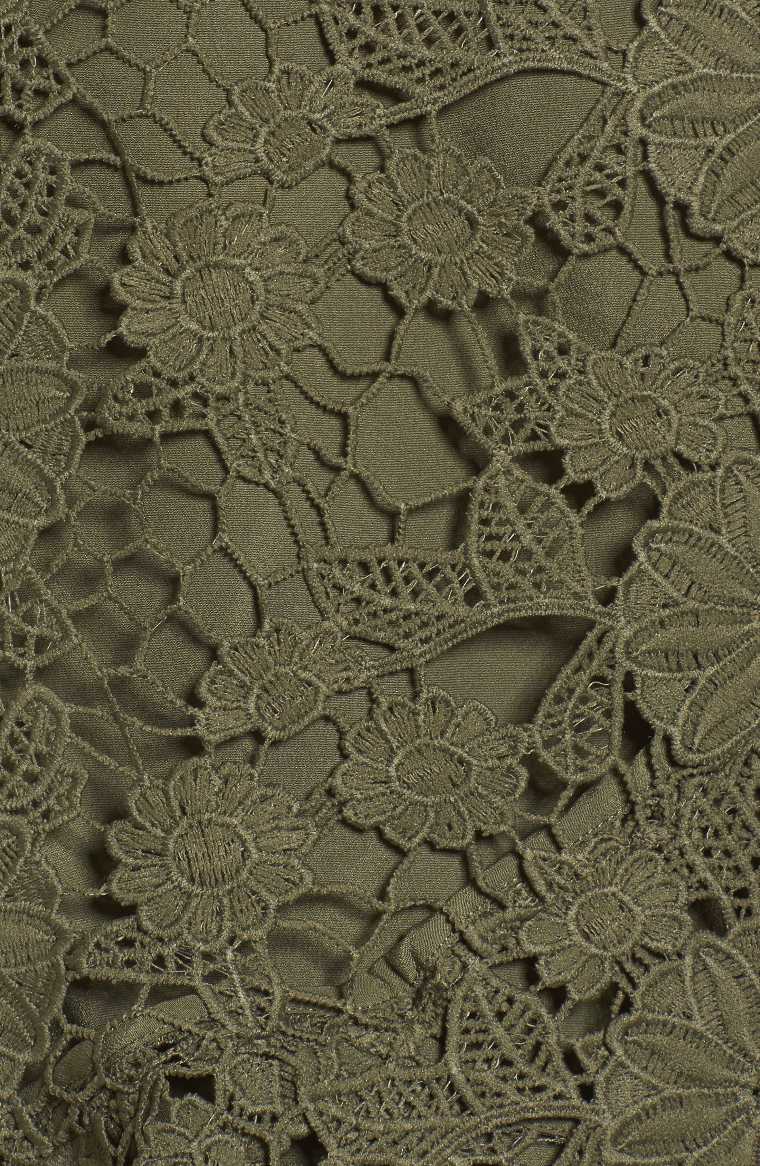 Alternate Image 6  - Keepsake the Label Frameless Lace Sheath Dress