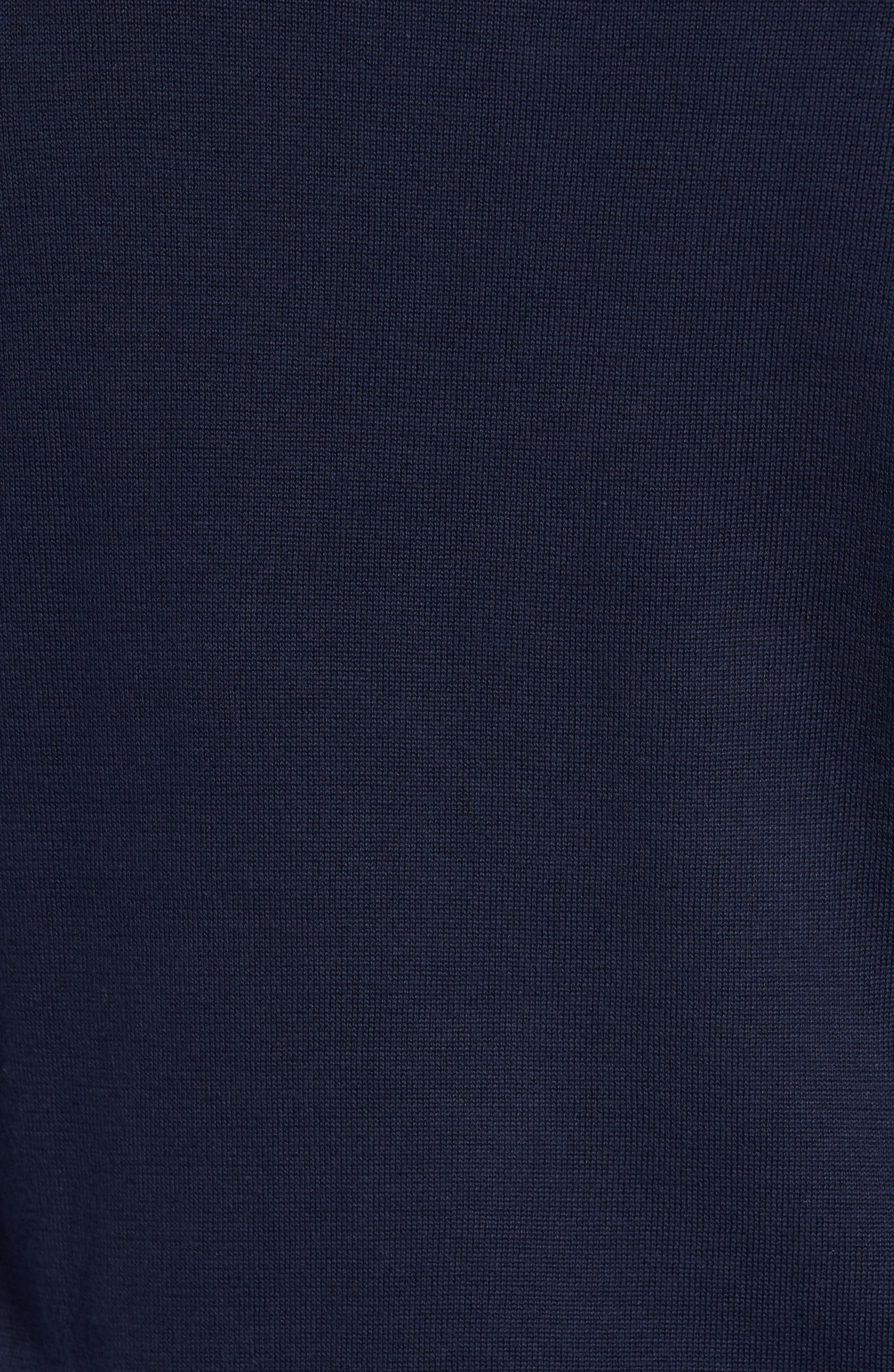 Alternate Image 5  - Lacoste Quarter Zip Sweater