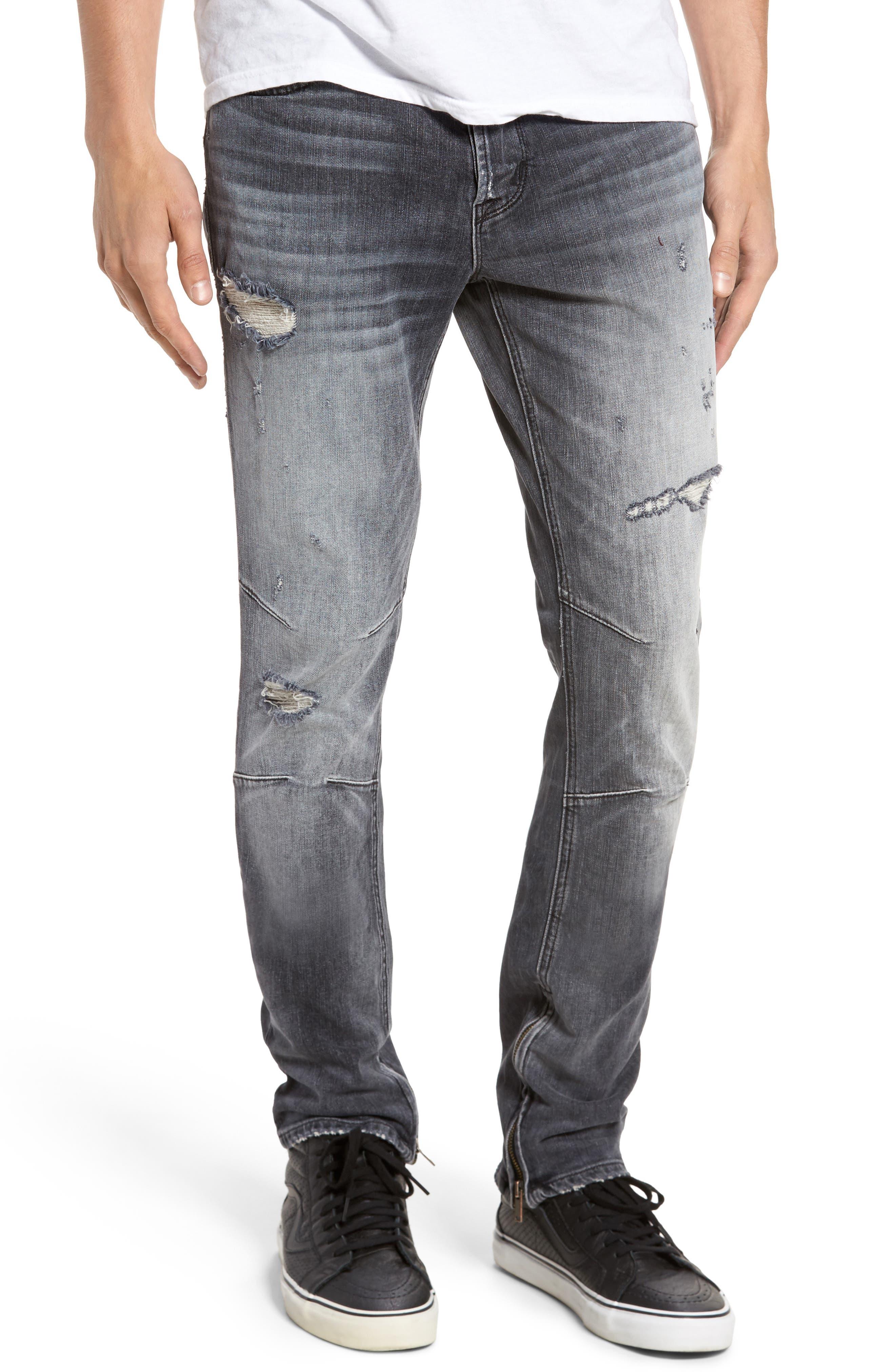 Alternate Image 1 Selected - Hudson Jeans Vaughn Skinny Fit Jeans (Violate)