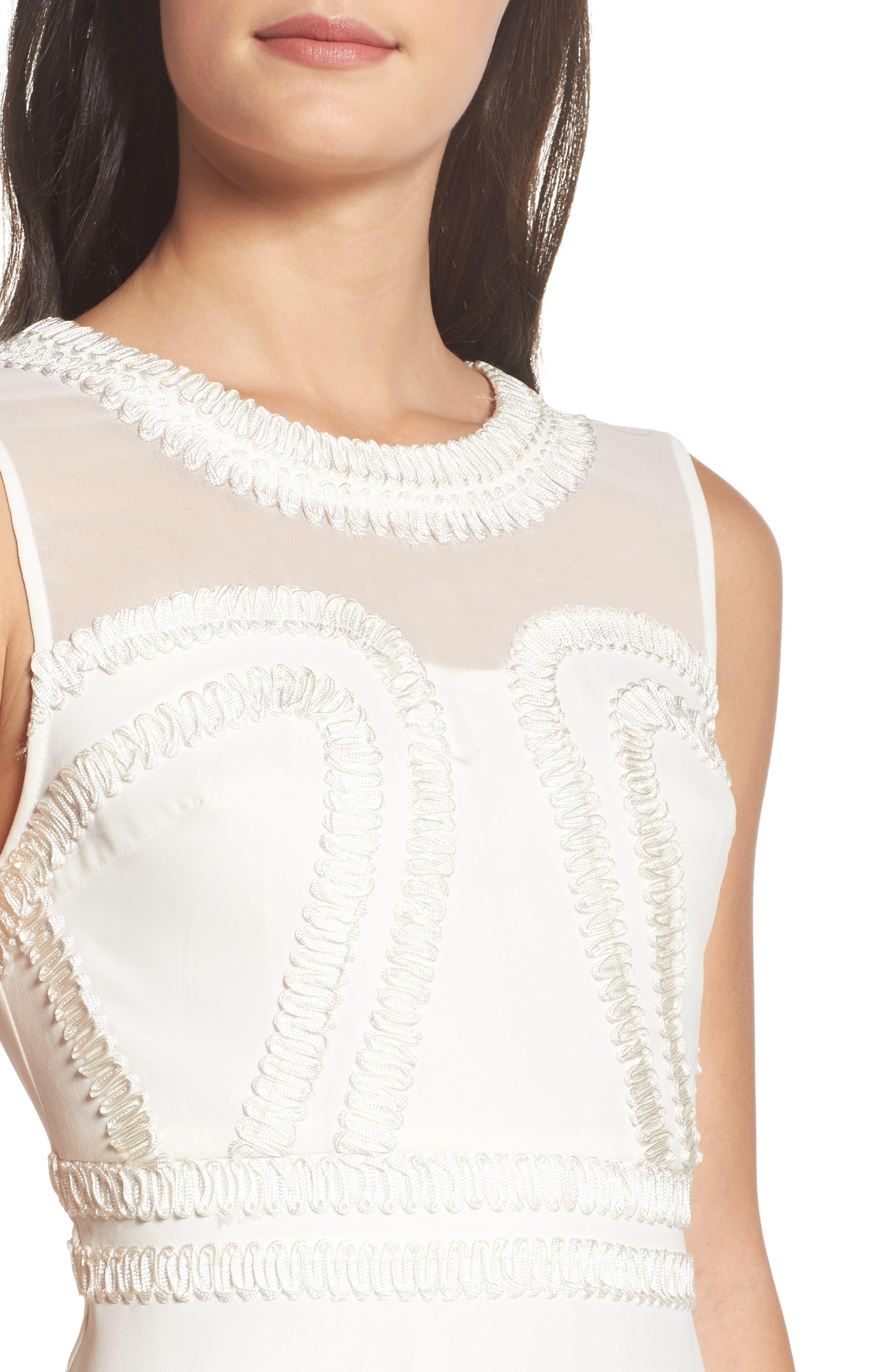 Alternate Image 4  - Foxiedox Aviana Fit & Flare Dress