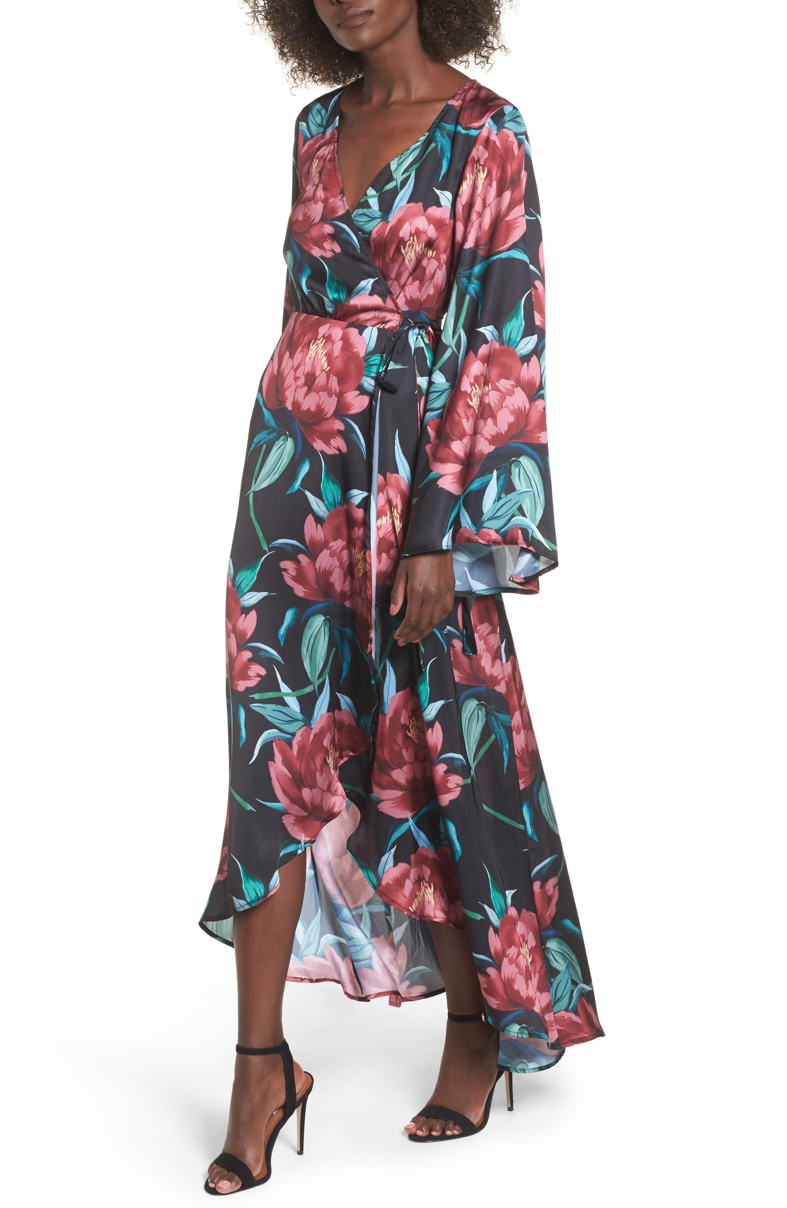Show Me Your Mumu Anita Wrap Maxi Dress