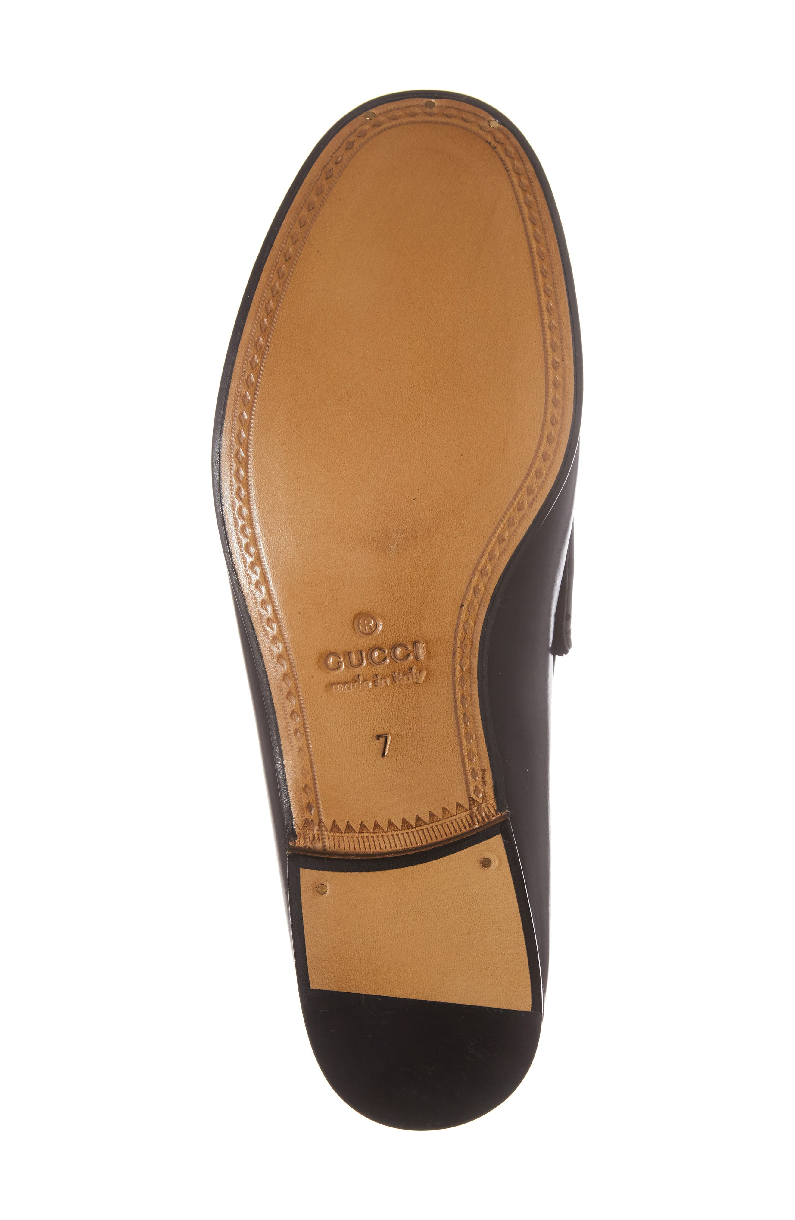 'Roos' Bit Loafer,                             Alternate thumbnail 6, color,                             Nero