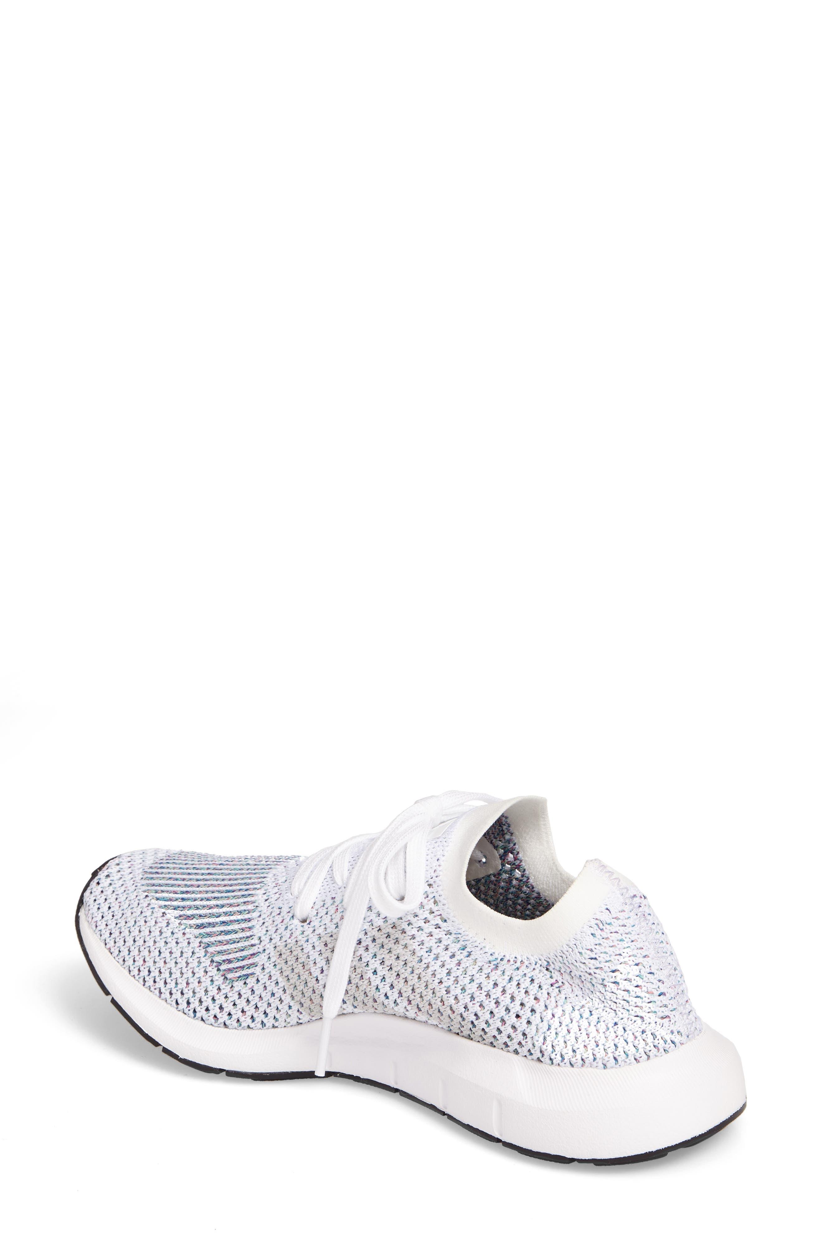 Swift Run Primeknit Training Shoe,                             Alternate thumbnail 2, color,                             White/ Off White/ Core Black