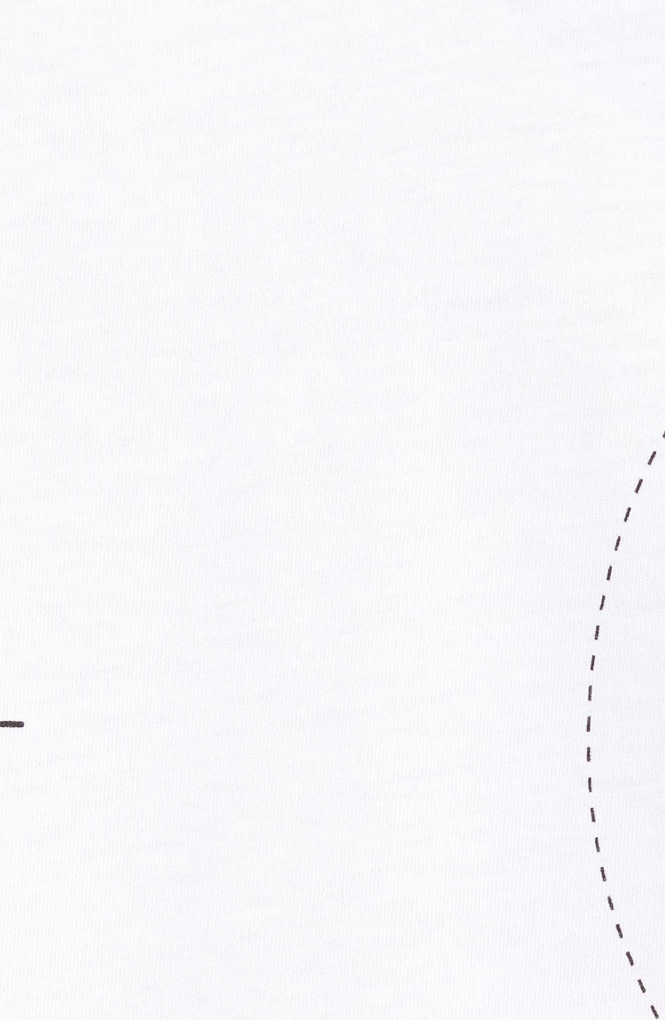 NSW Air Max 2 T-Shirt,                             Alternate thumbnail 6, color,                             White/ Black