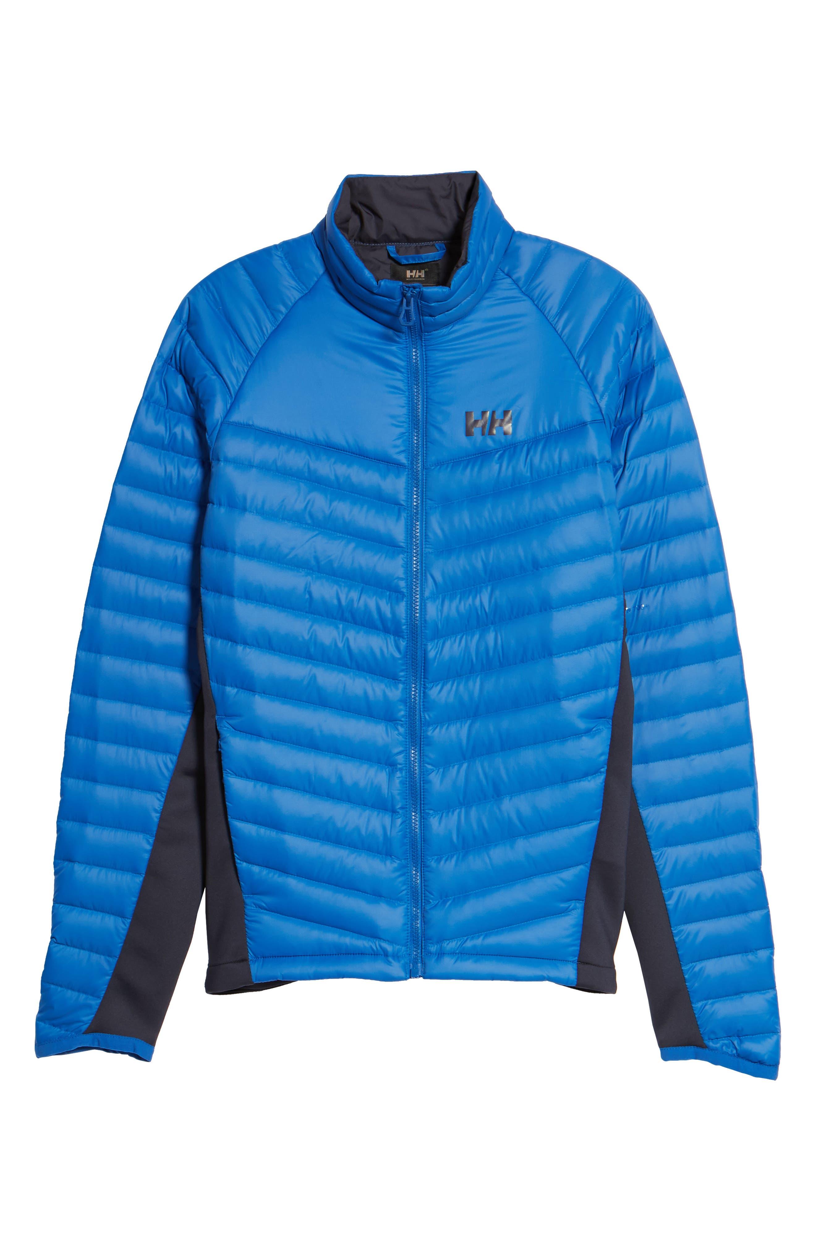 Verglas Insulator Hybrid Jacket,                             Alternate thumbnail 6, color,                             563 Olympian Blue