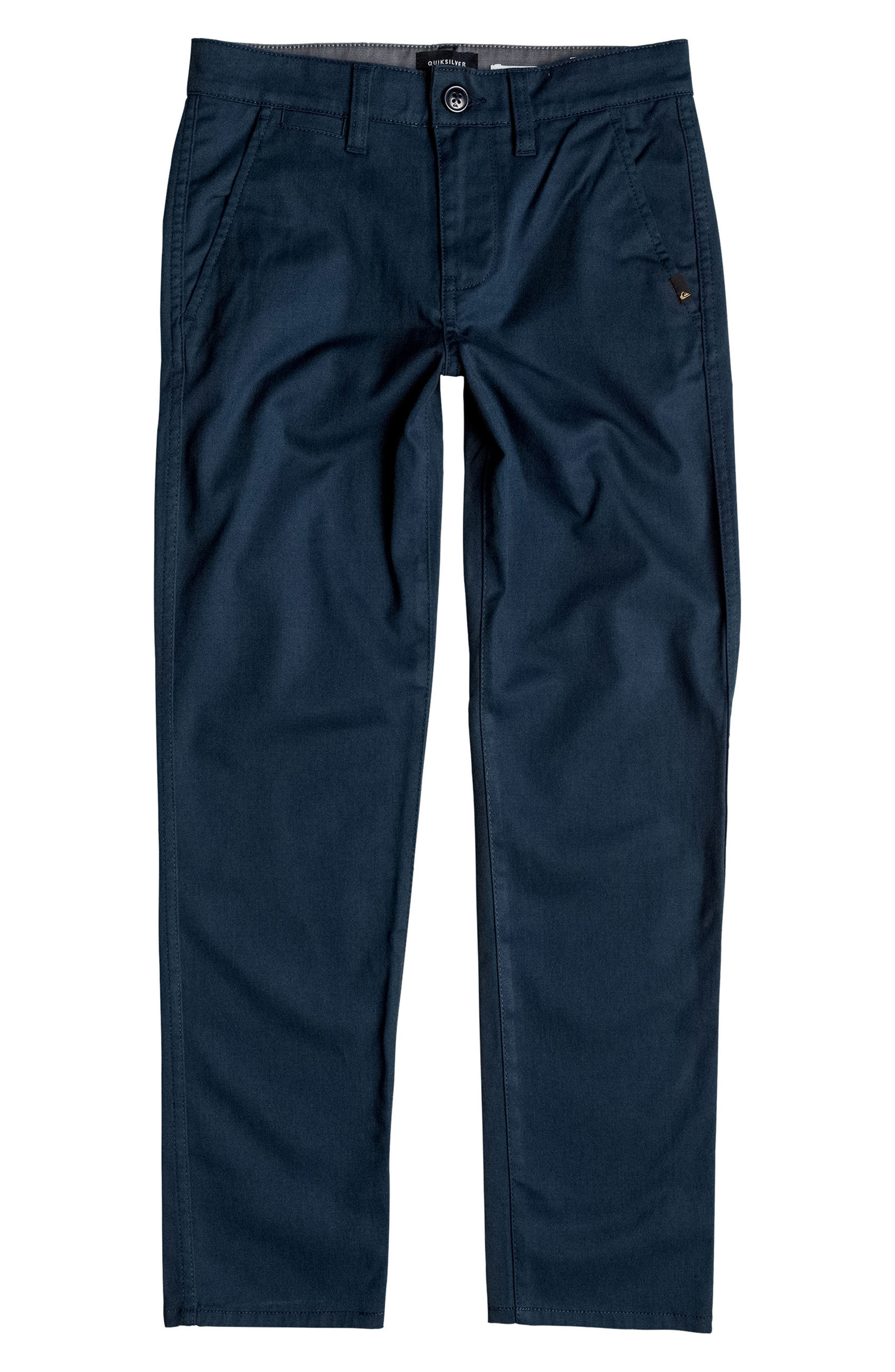 Regular Fit Everyday Union Pants,                             Main thumbnail 1, color,                             Navy Blazer