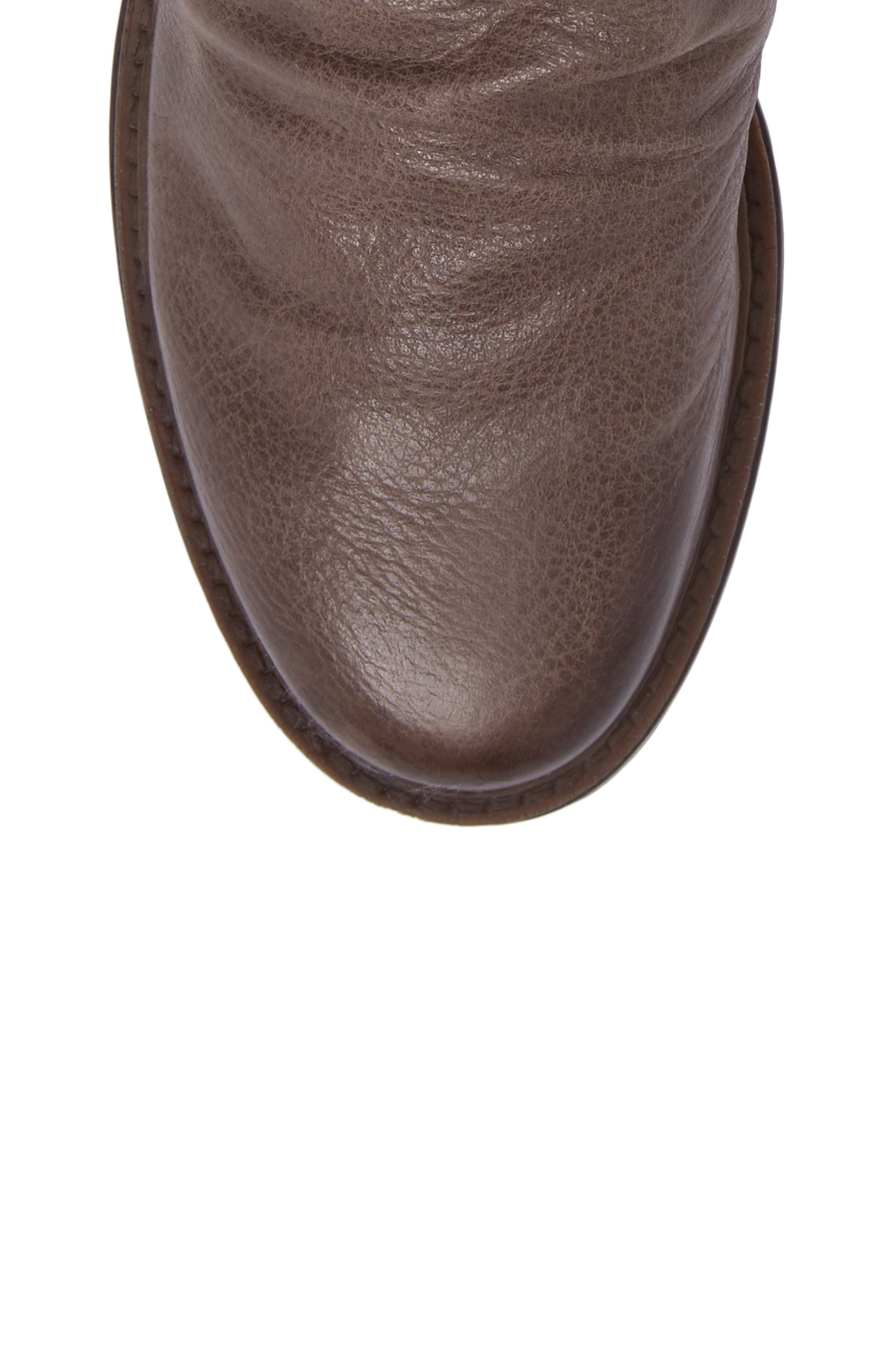 Fernweh Slouchy Bootie,                             Alternate thumbnail 5, color,                             Mint Leather