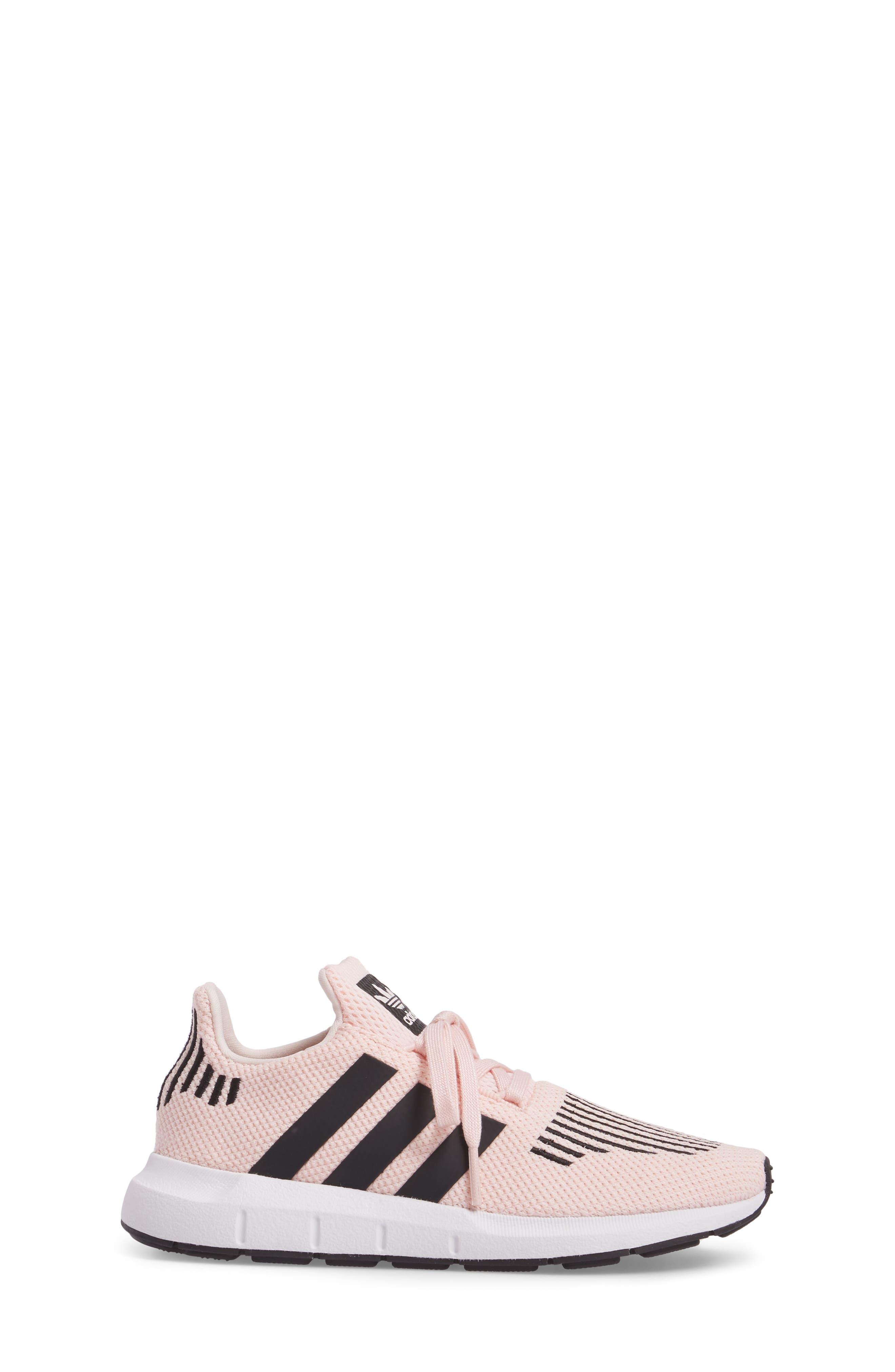 Swift Run C Sneaker,                             Alternate thumbnail 3, color,                             Icey Pink/ Core Black