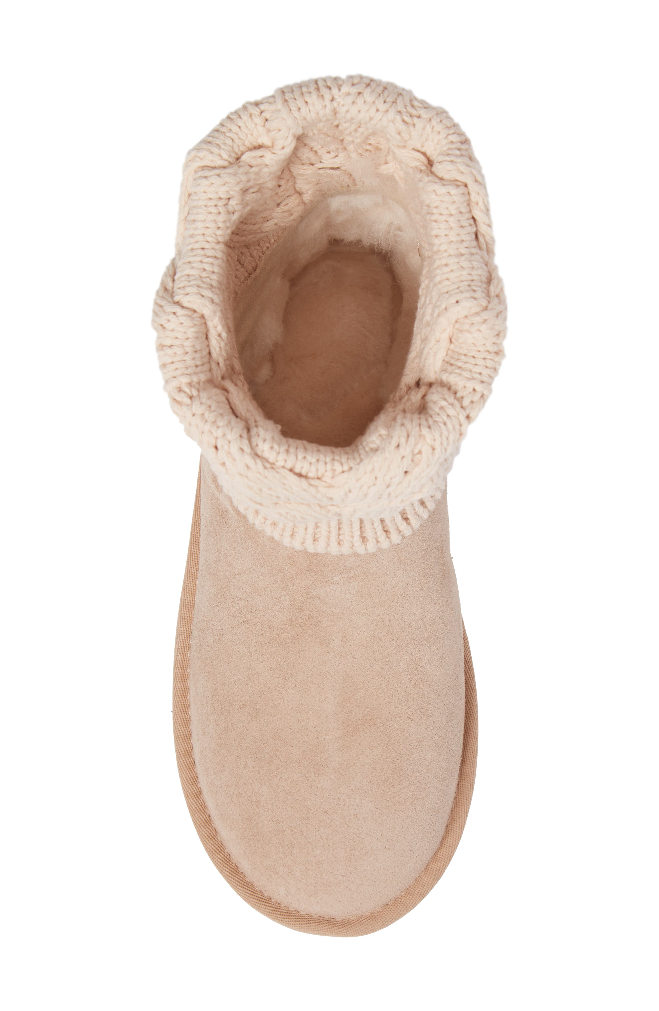 Alternate Image 5  - UGG® Saela Knit Cuff Boot (Women)