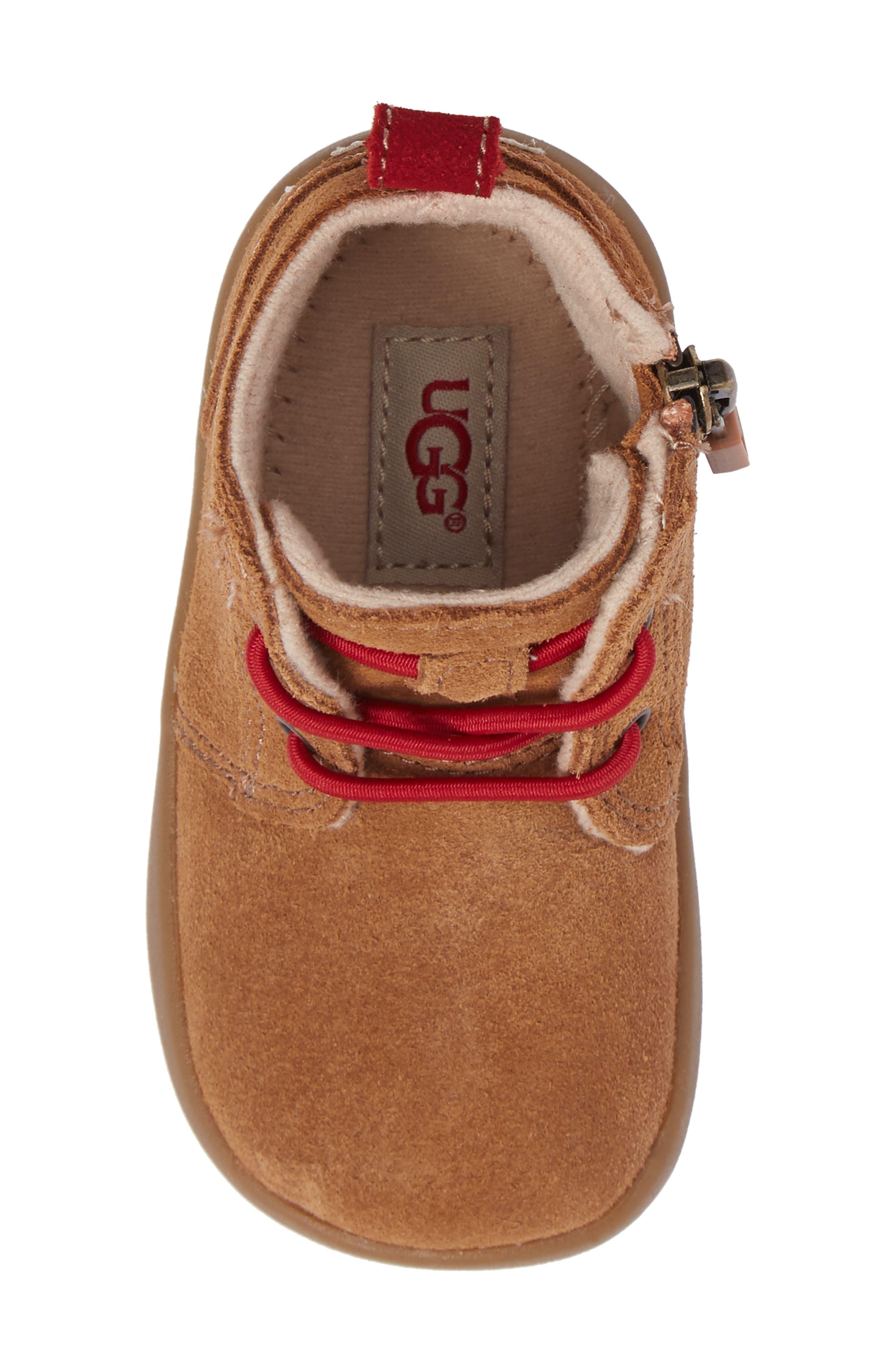 Alternate Image 5  - UGG® Kristjan Chukka Bootie Sneaker (Baby & Walker)