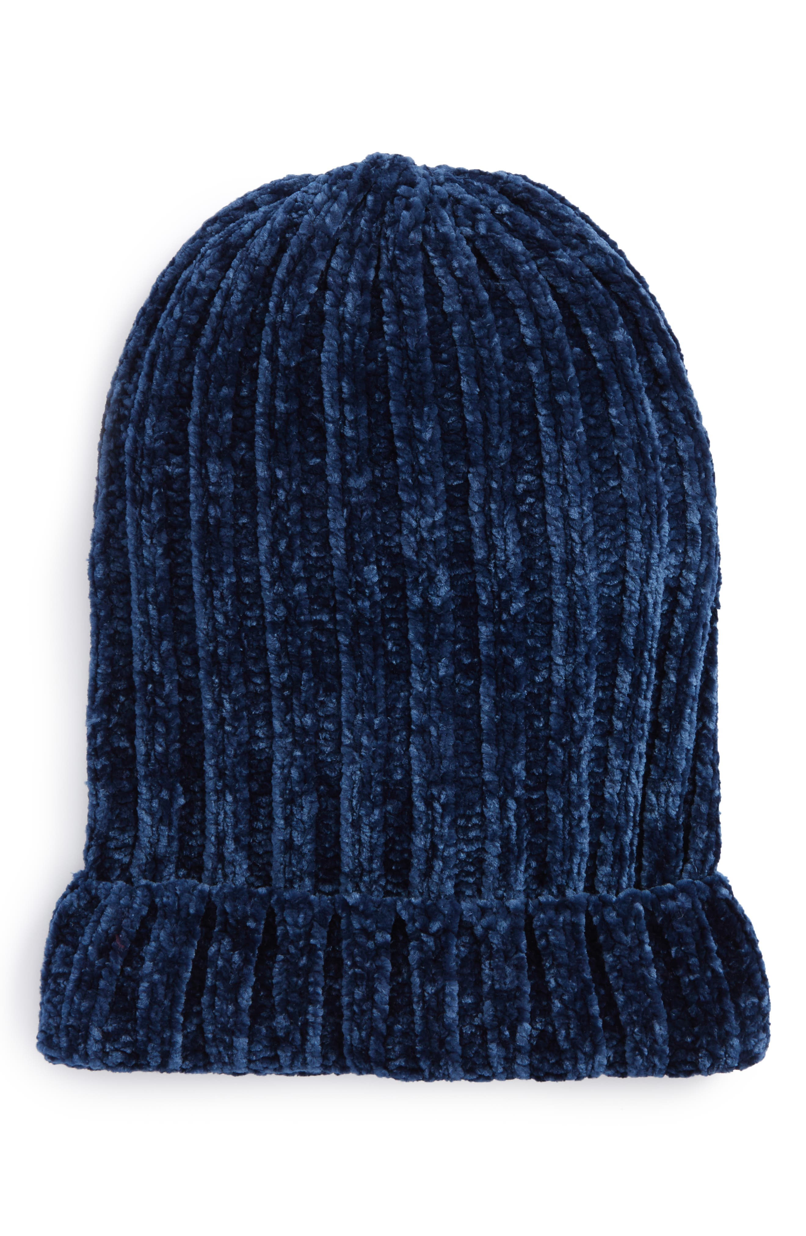 Free People Huggy Bear Chenille Beanie