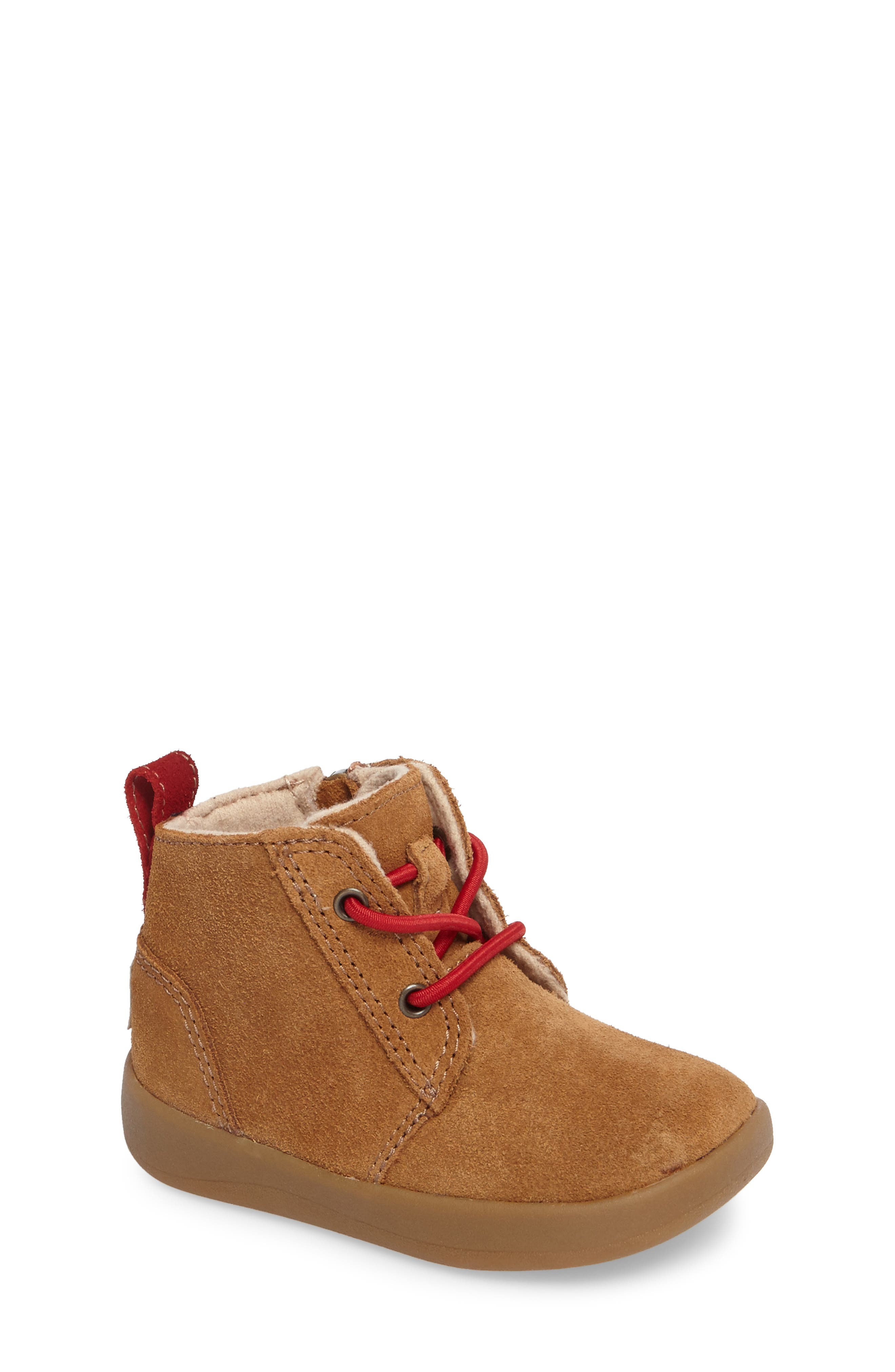 Alternate Image 1 Selected - UGG® Kristjan Chukka Bootie Sneaker (Baby & Walker)