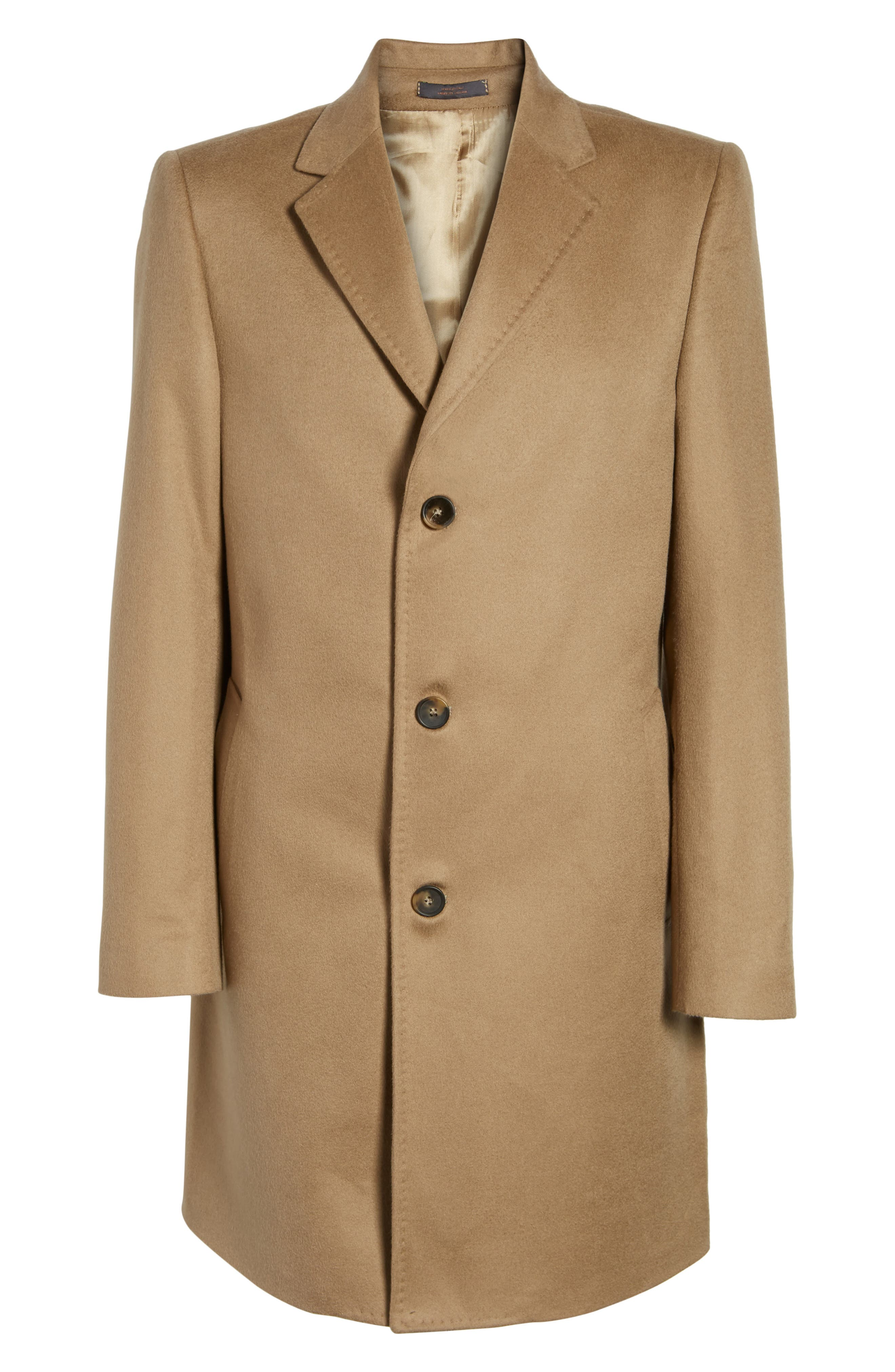 Alternate Image 6  - Monte Rosso Carter Classic Fit Cashmere Overcoat