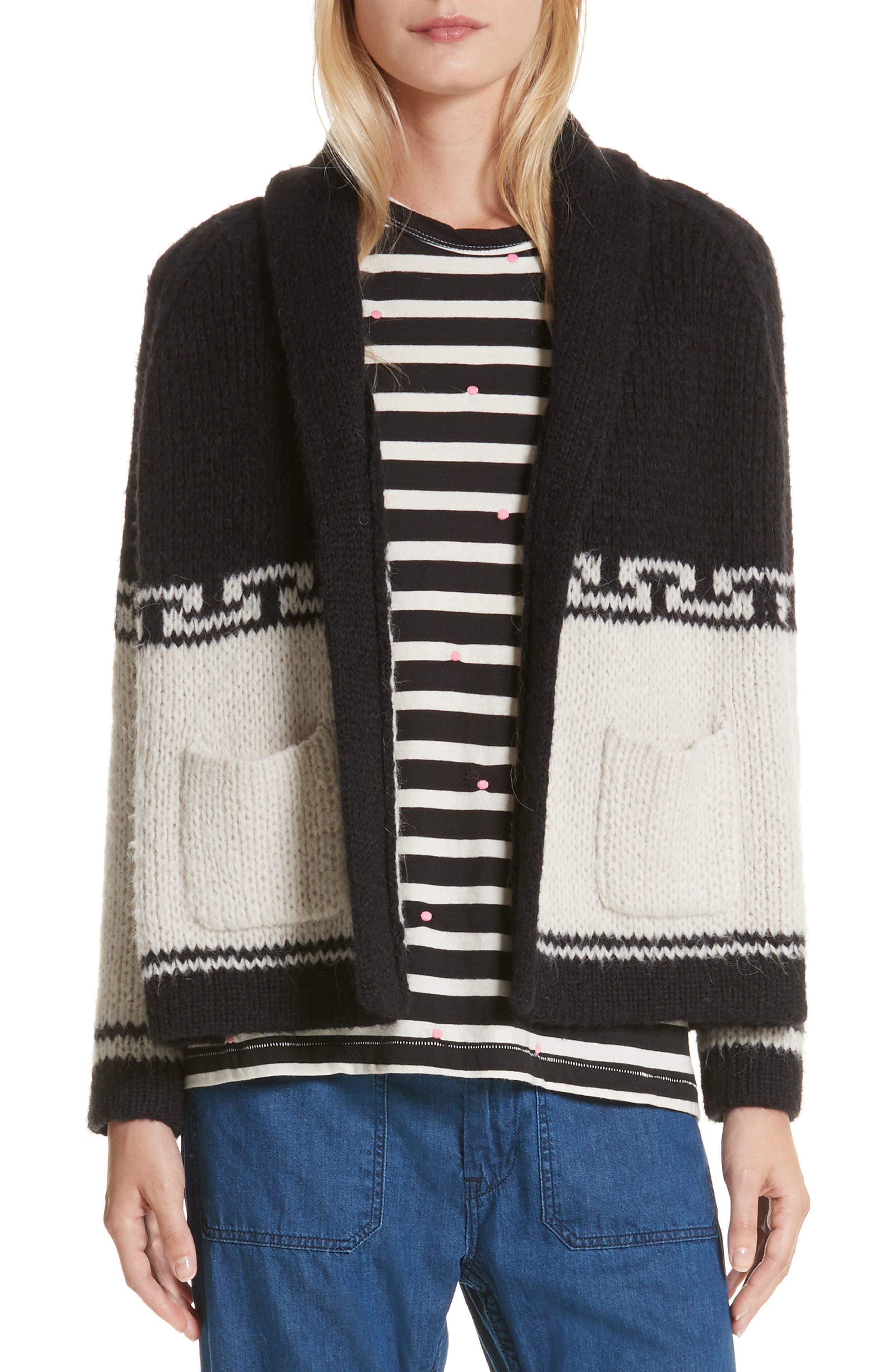 THE GREAT. The Lodge Cardigan