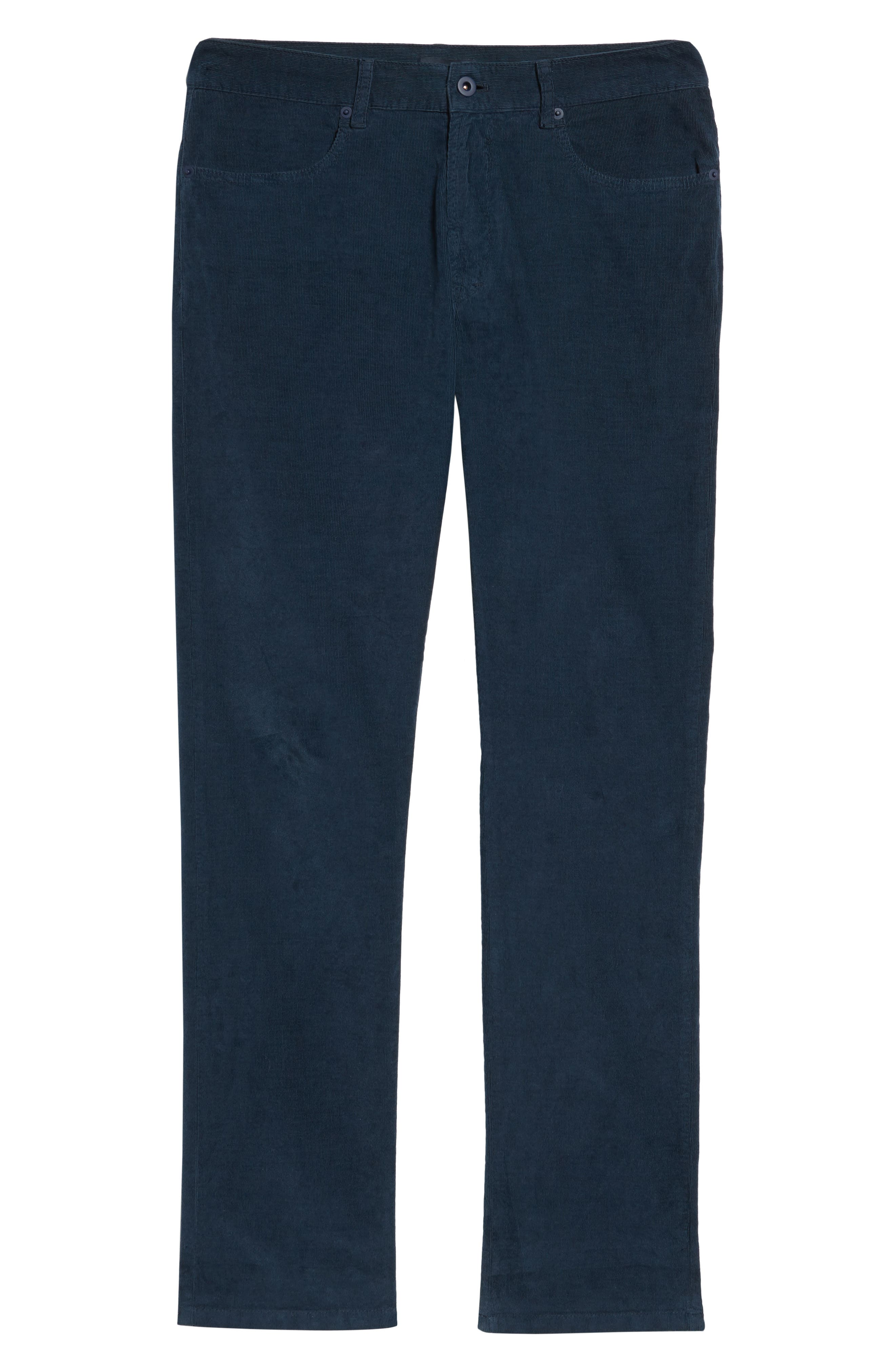 Redonda Stretch Corduroy Trousers,                             Alternate thumbnail 6, color,                             Midnight