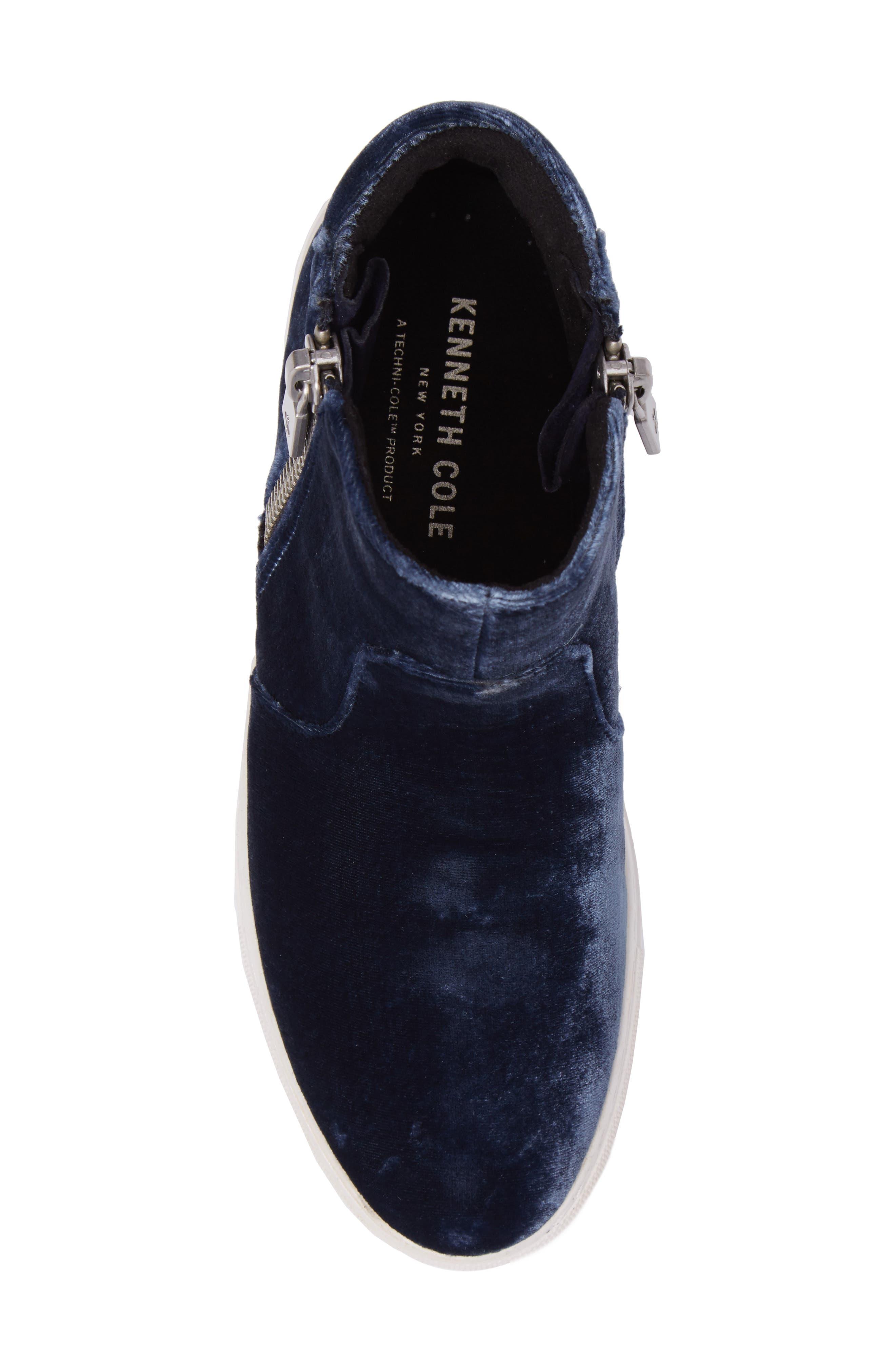 Alternate Image 5  - Kenneth Cole New York 'Kiera' Zip High Top Sneaker (Women)