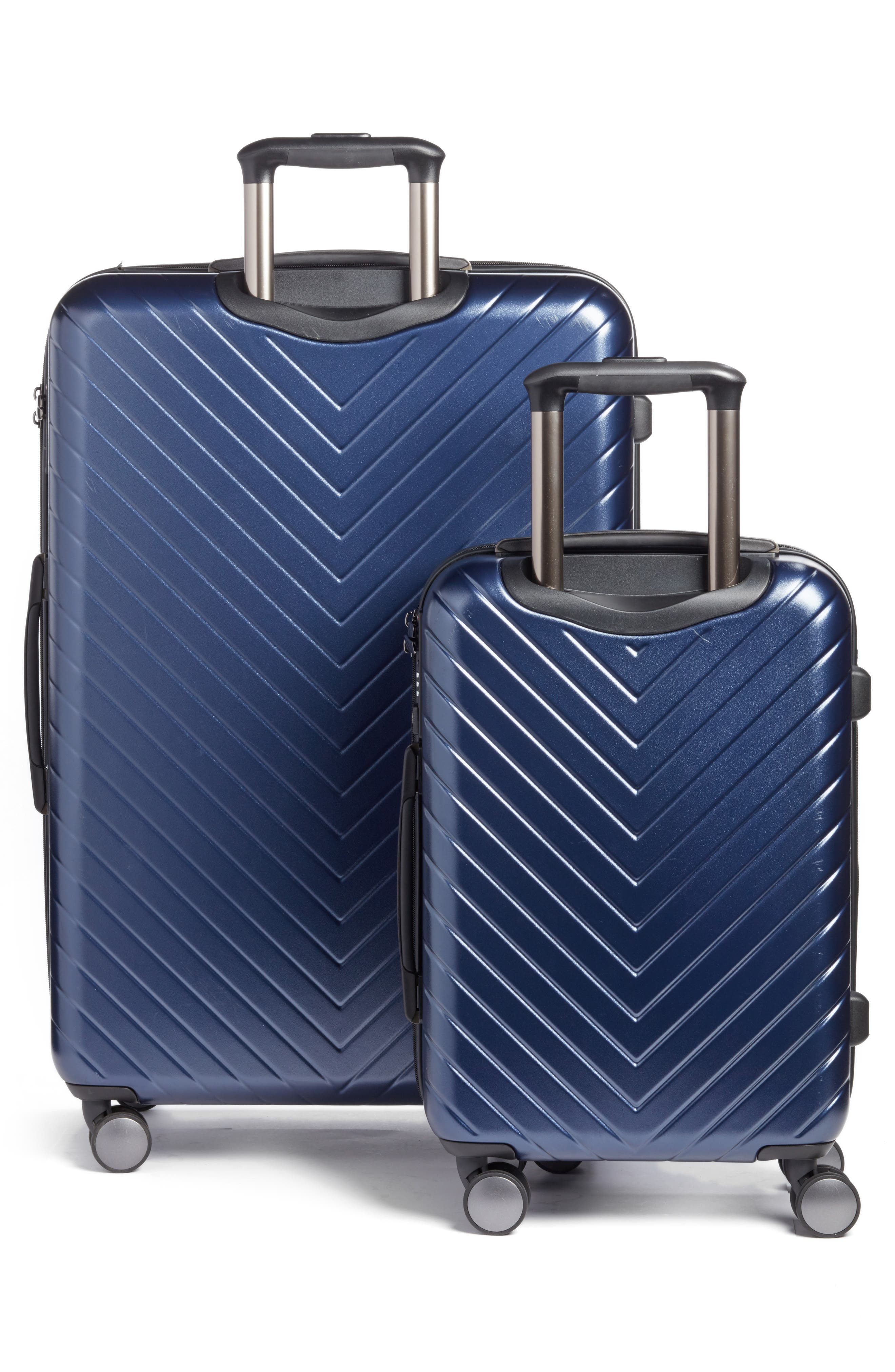 Alternate Image 3  - Nordstrom Chevron 29-Inch & 20-Inch Spinner Luggage Set ($408 Value)