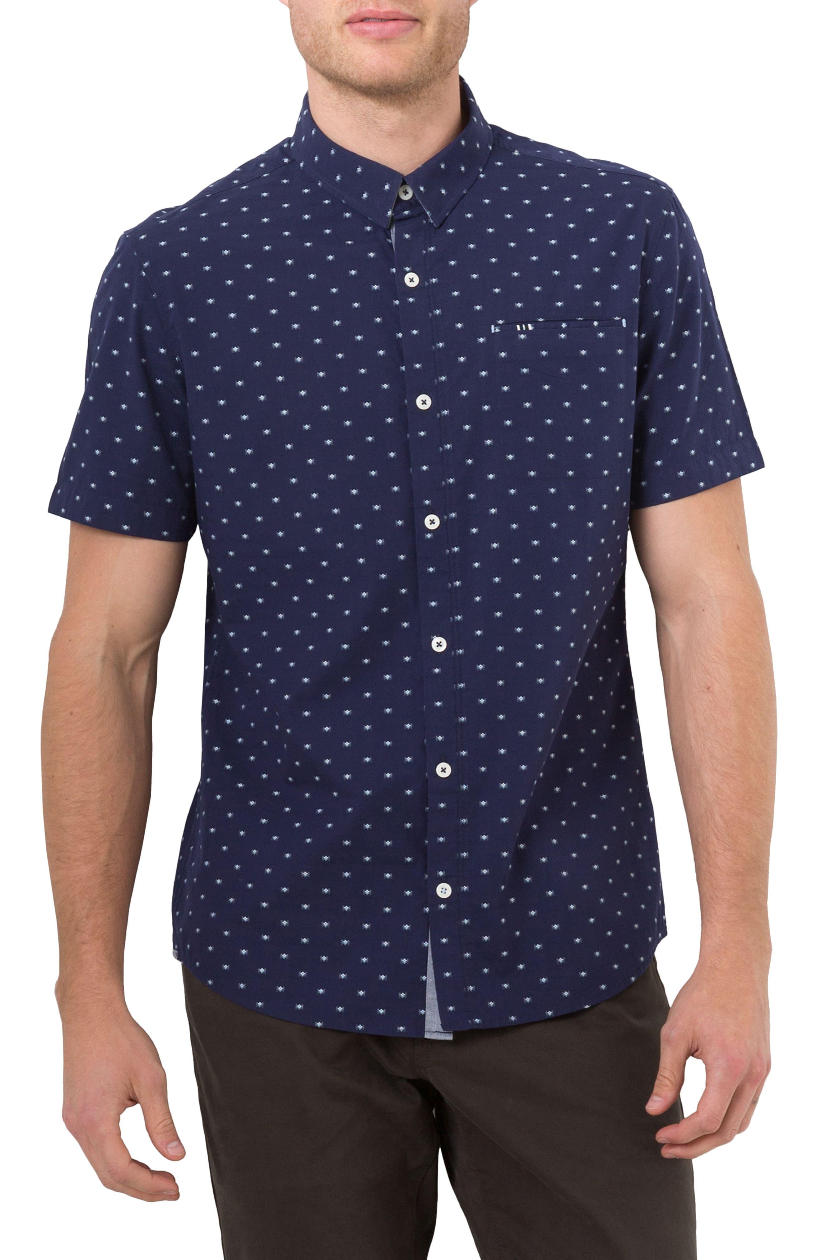 Alternate Image 1 Selected - 7 Diamonds Star Quality Dobby Woven Shirt