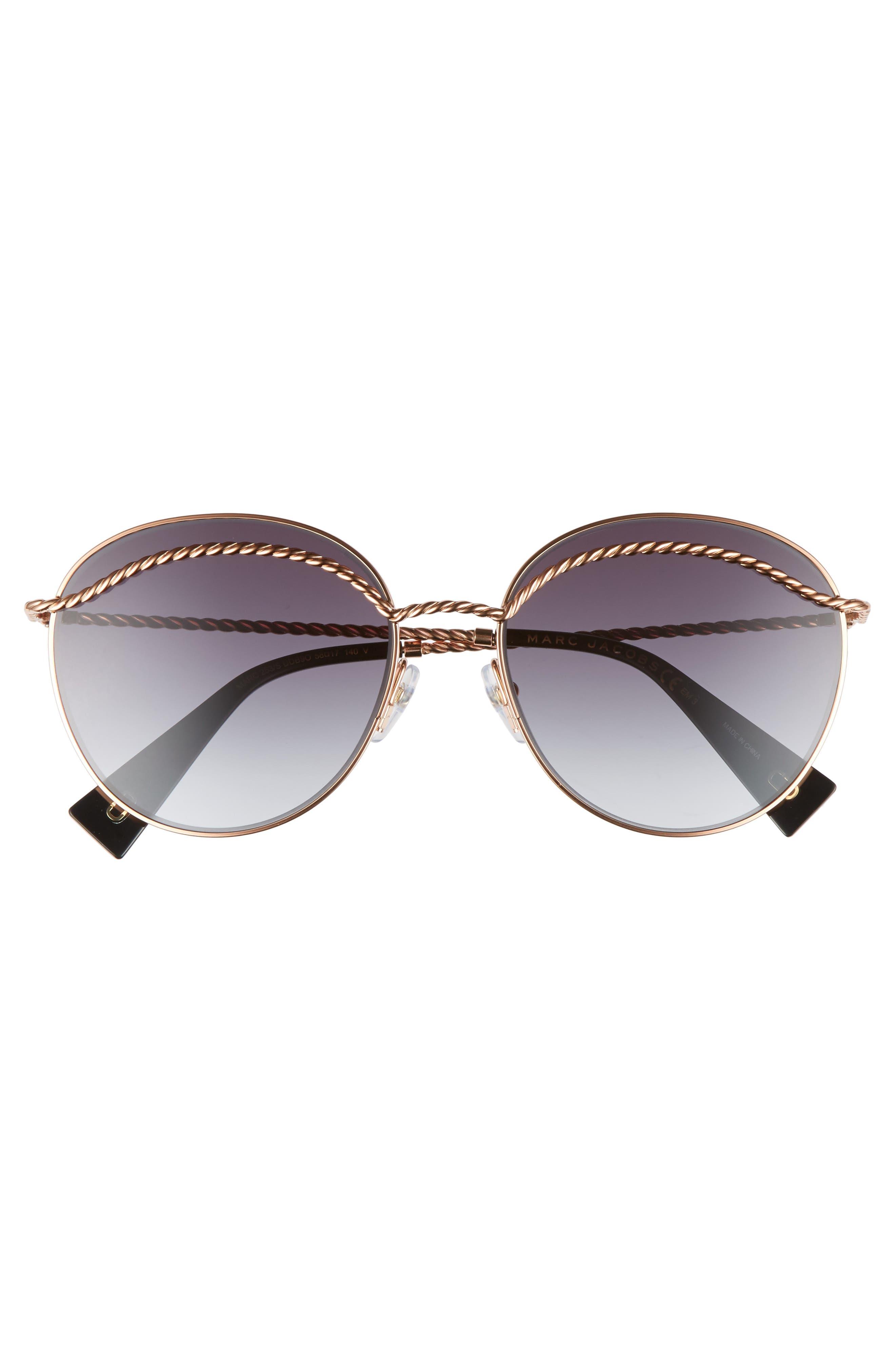 Alternate Image 3  - MARC JACOBS 58mm Round Sunglasses