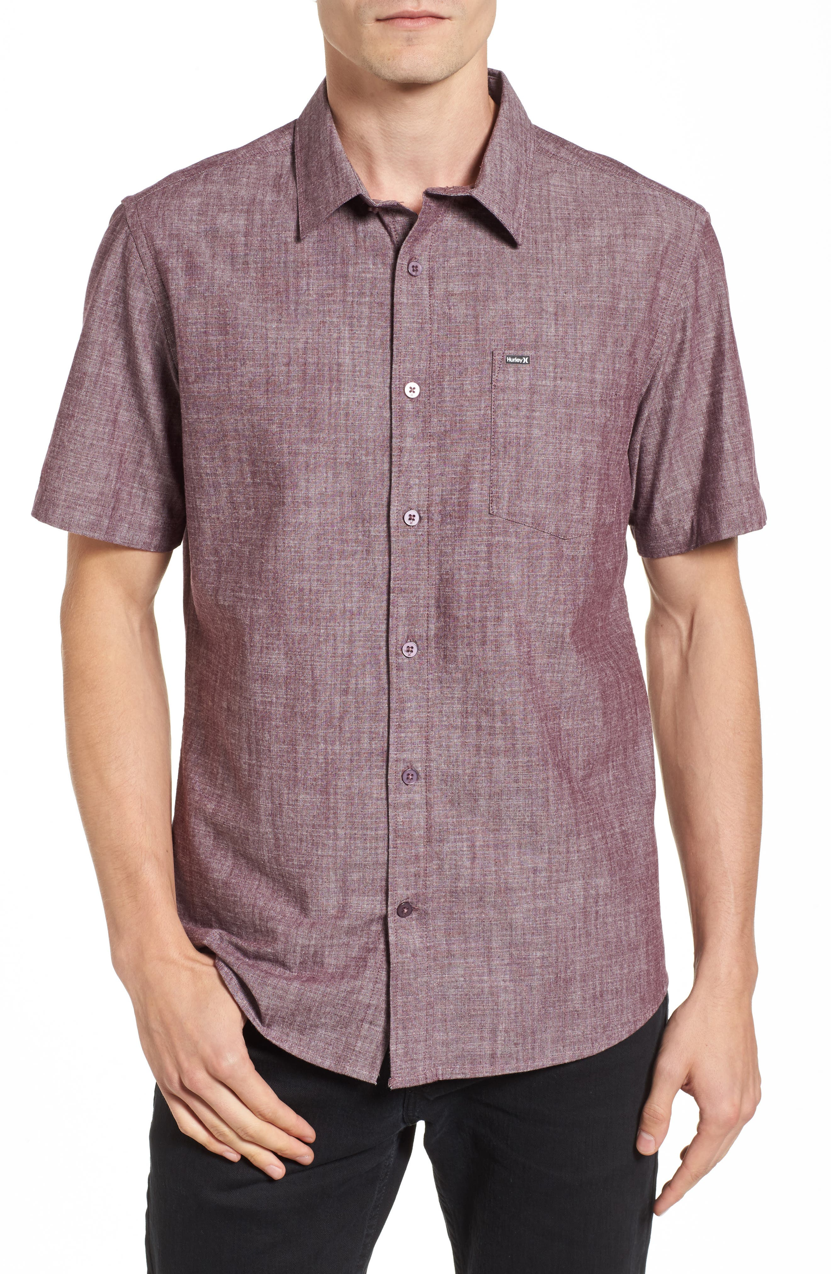 Alternate Image 1 Selected - Hurley O & O 3.0 Woven Shirt