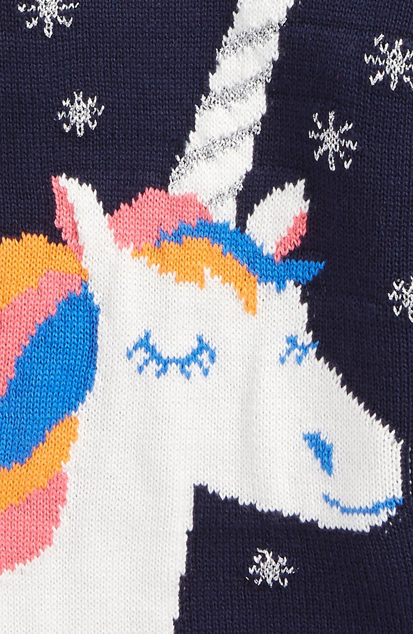 Alternate Image 2  - Tucker + Tate Unicorn Sweater (Baby Girls)