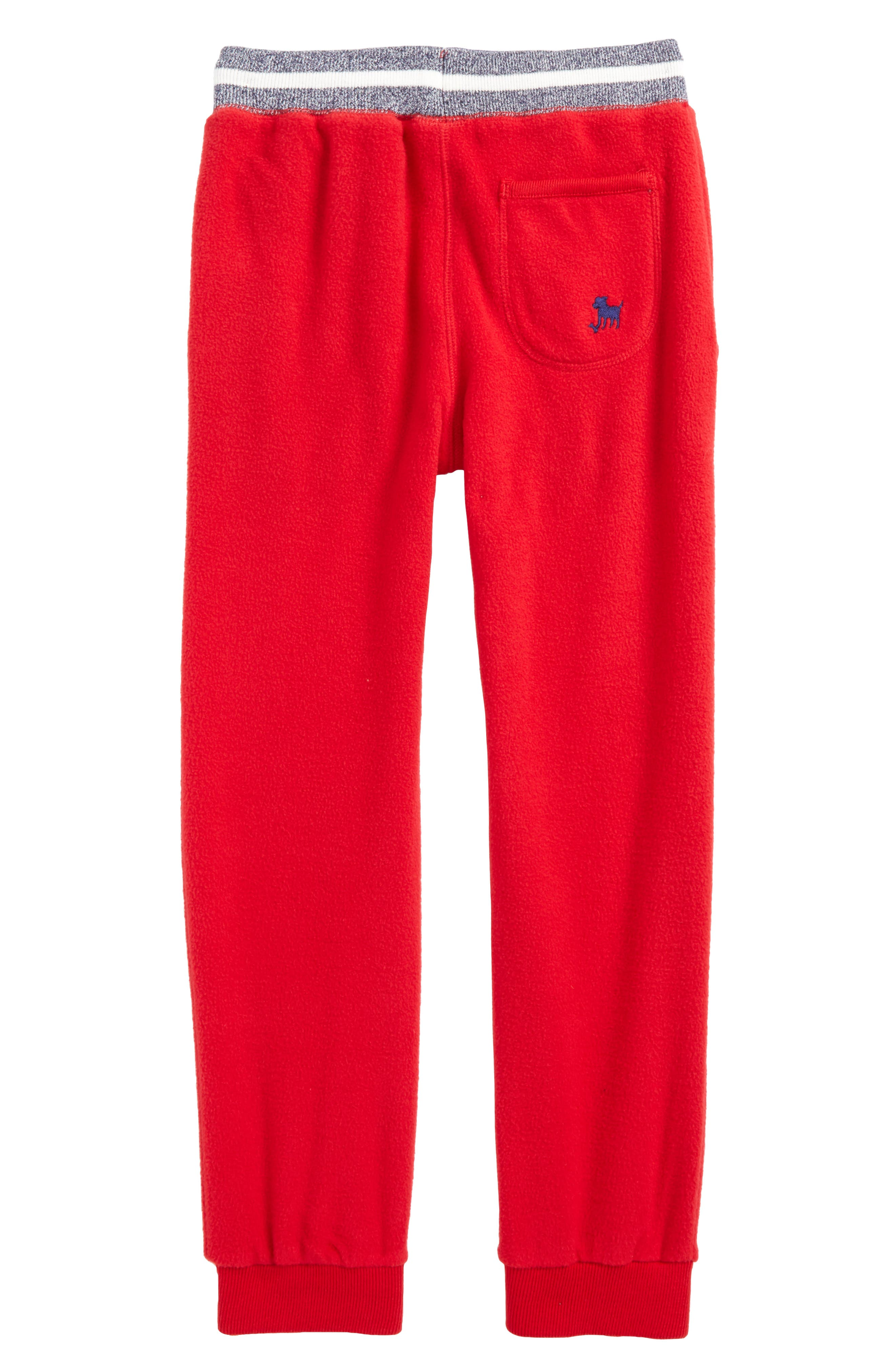 Alternate Image 2  - Mini Boden Microfleece Jogger Pants (Toddler Boys, Little Boys & Big Boys)