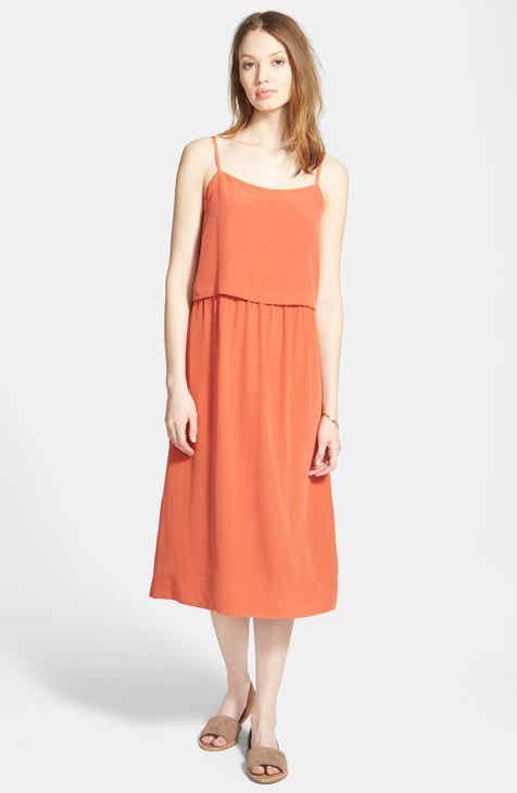 Madewell Camisole Overlay Silk Slipdress by MADEWELL