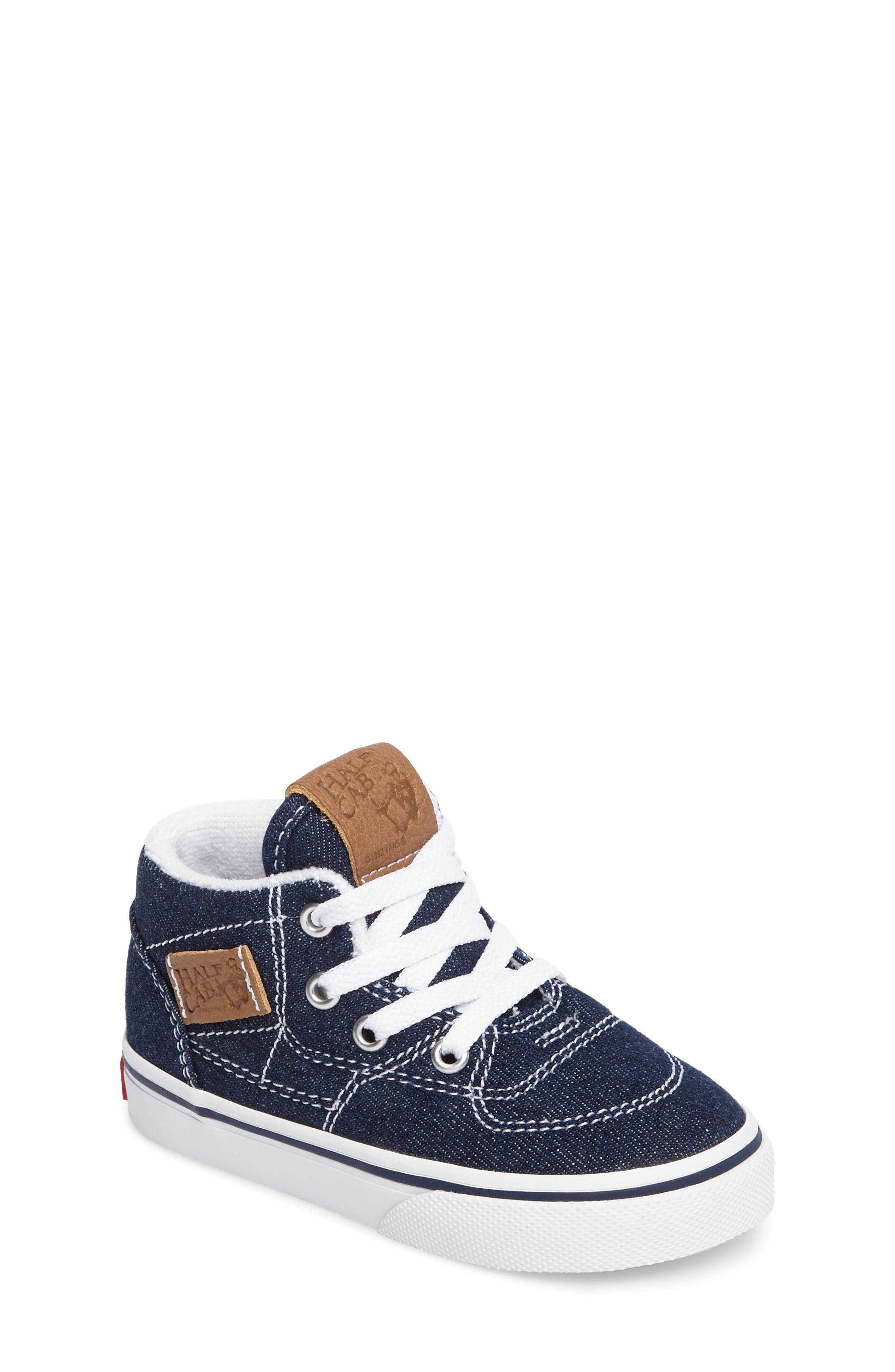 Alternate Image 1 Selected - Vans Half Cab Sneaker (Baby, Walker & Toddler)
