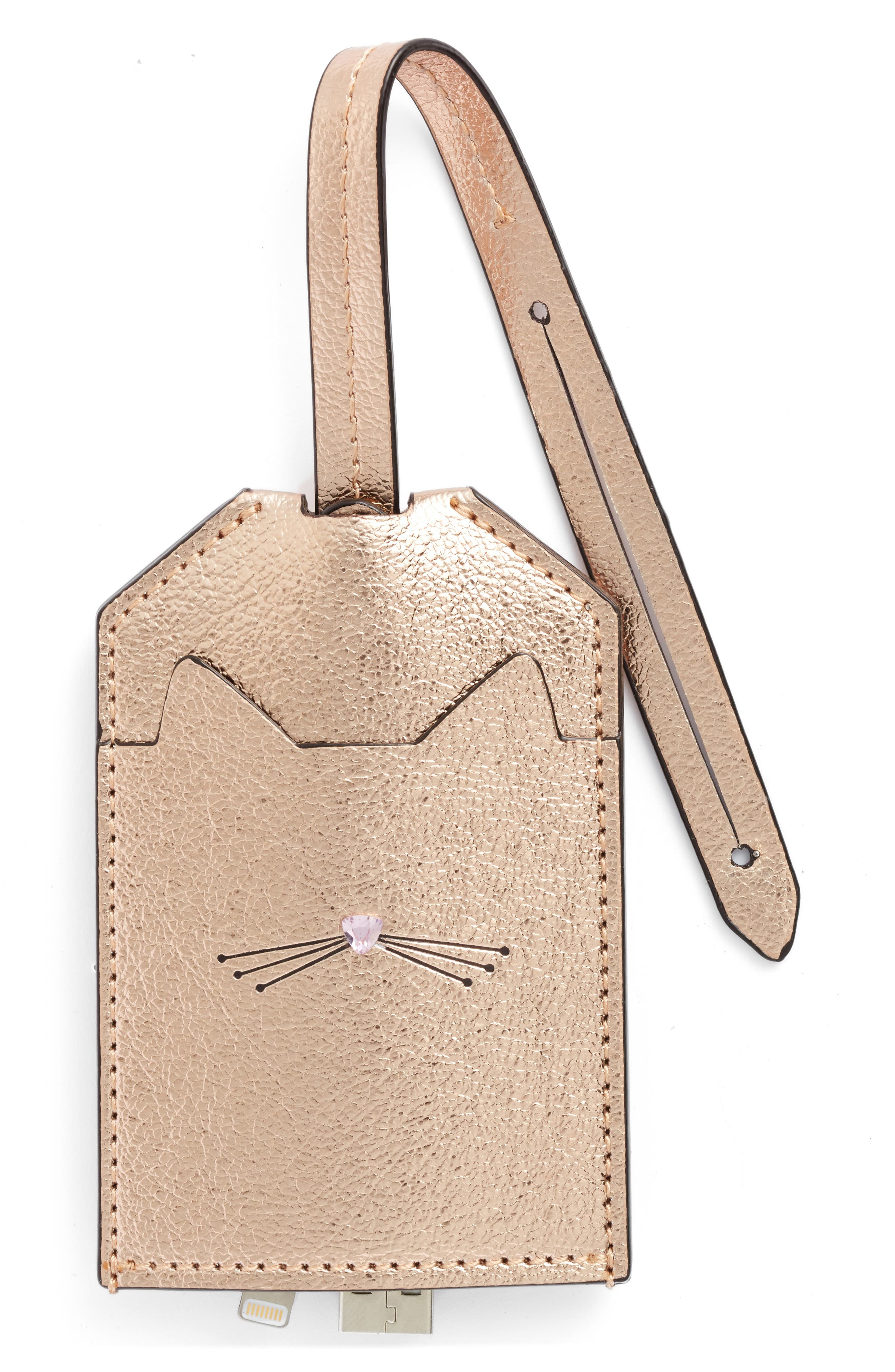 kate spade new york cat portable lightning cable