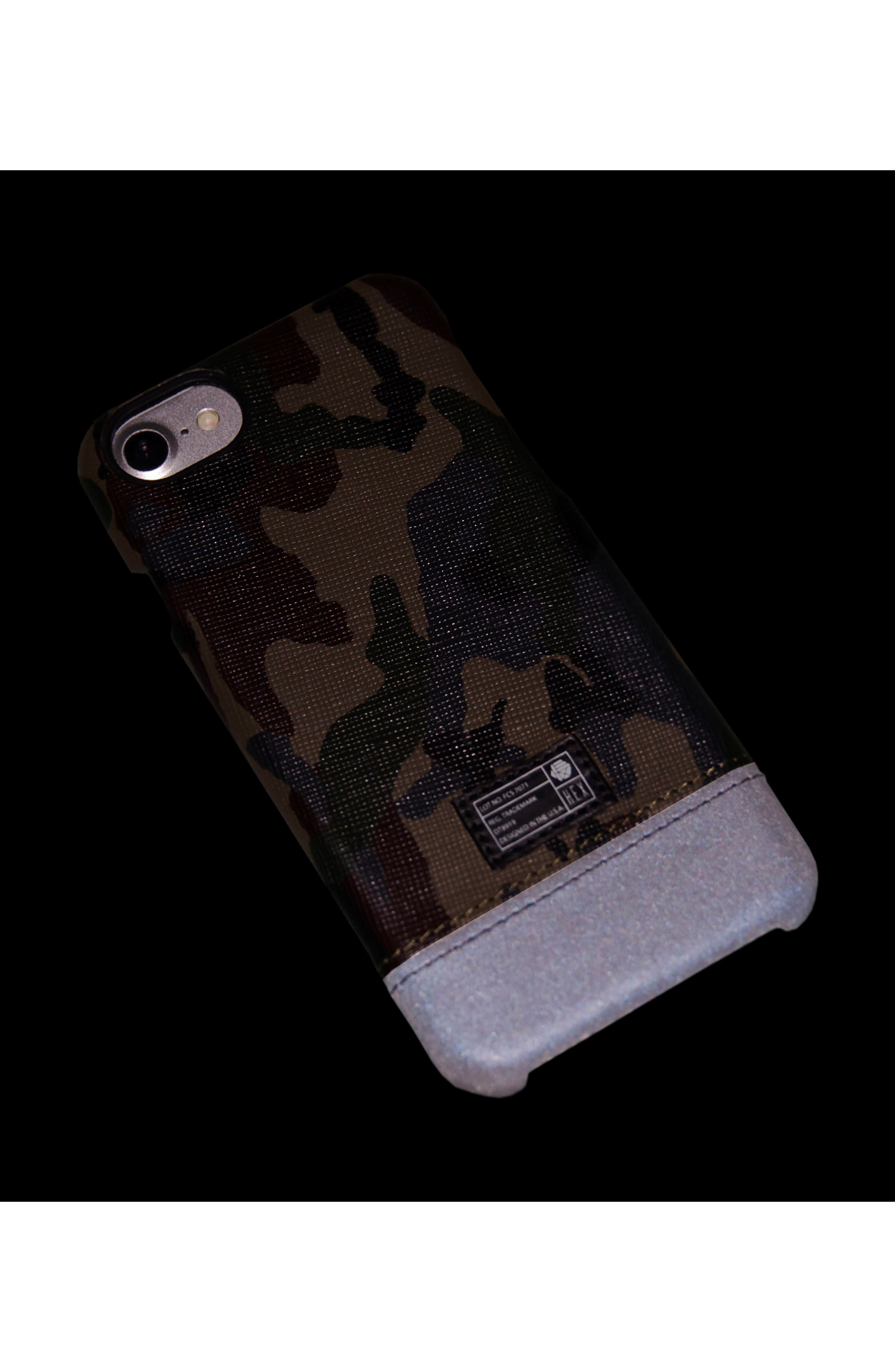Focus iPhone 7/8 Case,                             Alternate thumbnail 4, color,                             Camo/ Reflective
